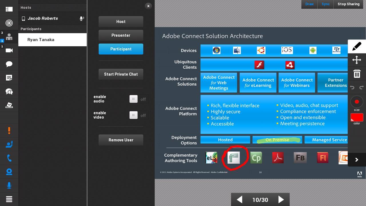 Adobe Connect 2.6.9 Screenshot 15