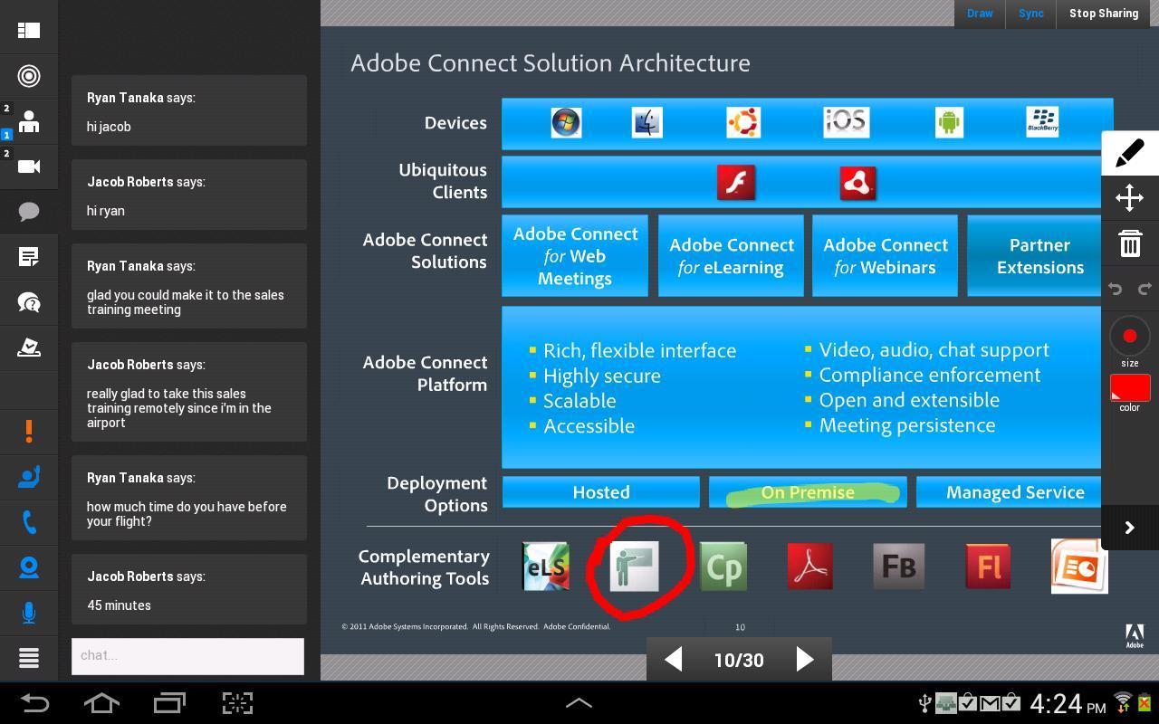 Adobe Connect 2.6.9 Screenshot 7