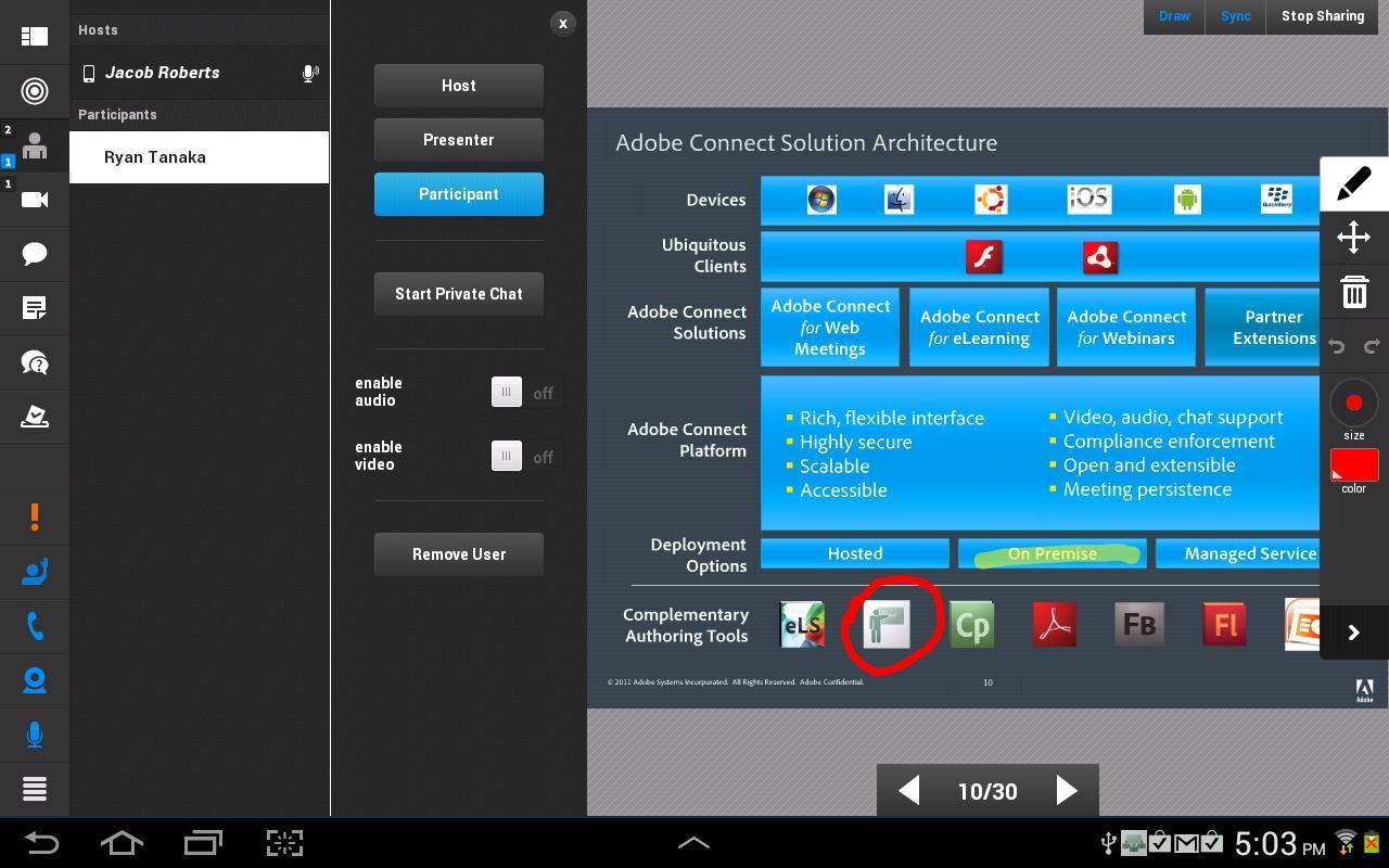 Adobe Connect 2.6.9 Screenshot 8