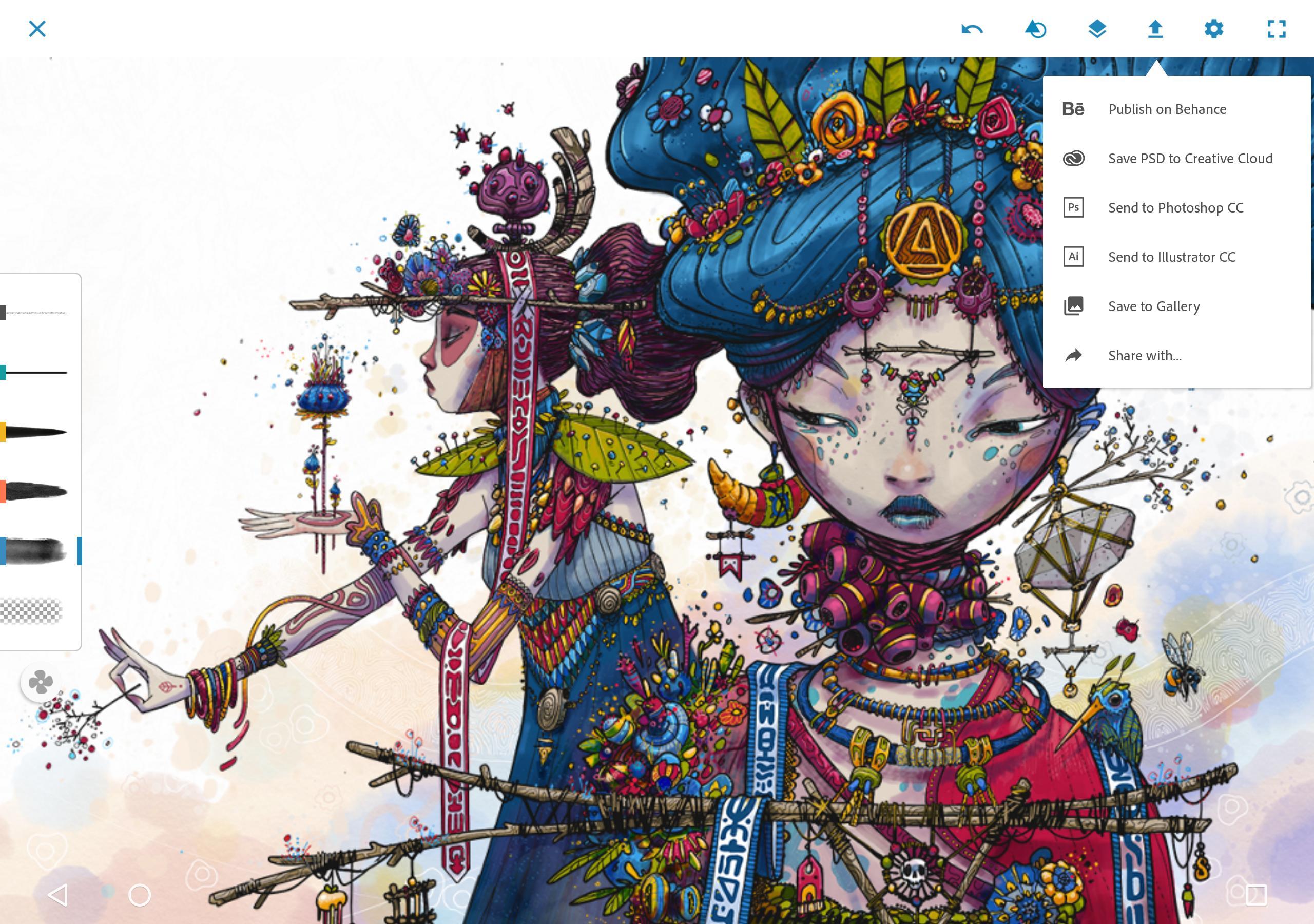 Adobe Photoshop Sketch 2.2.302 Screenshot 10