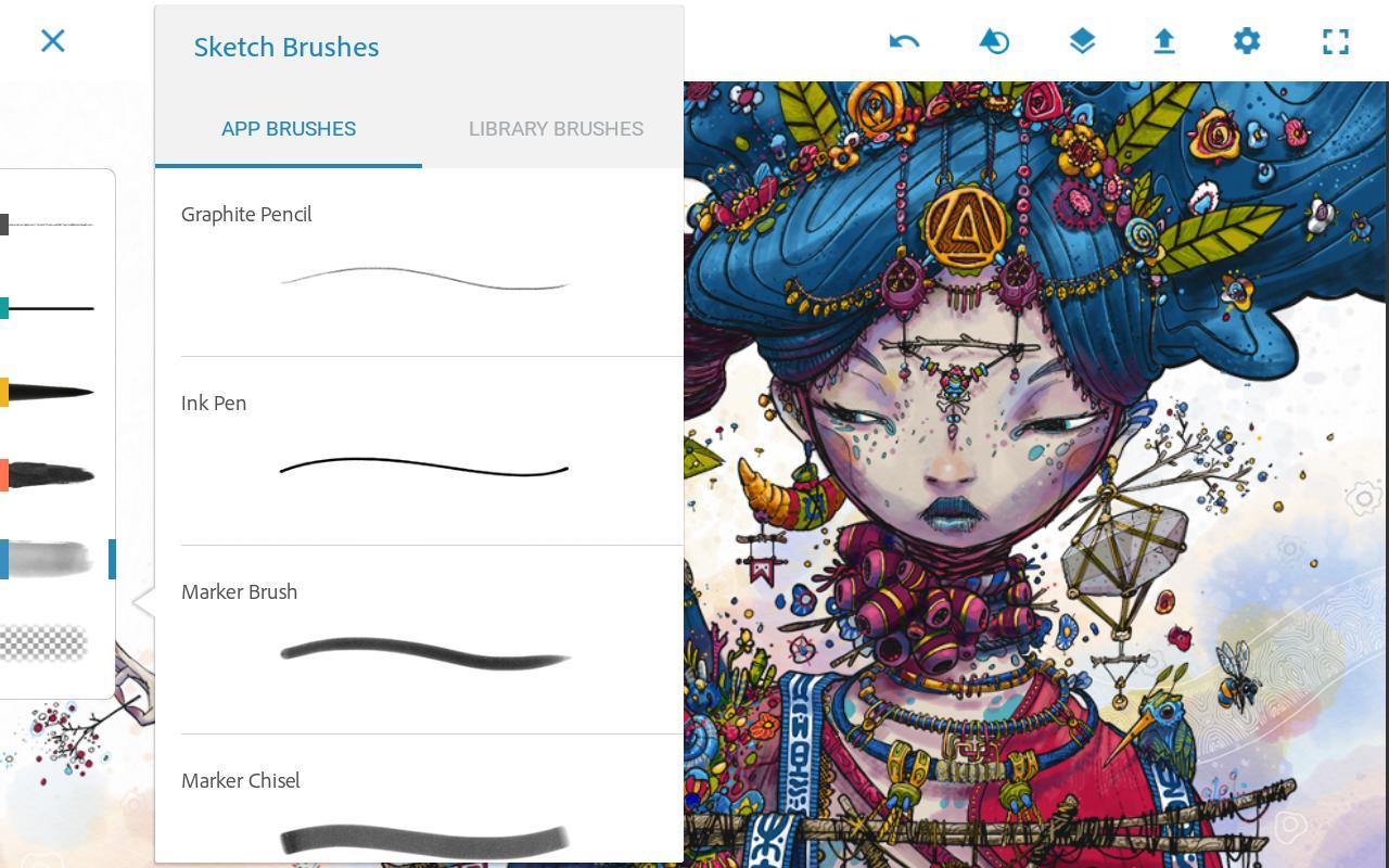 Adobe Photoshop Sketch 2.2.302 Screenshot 14