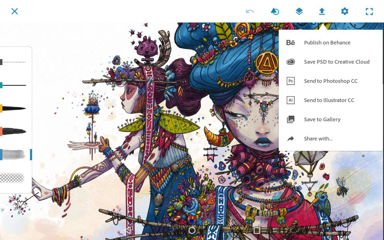Adobe Photoshop Sketch 2.2.302 Screenshot 16