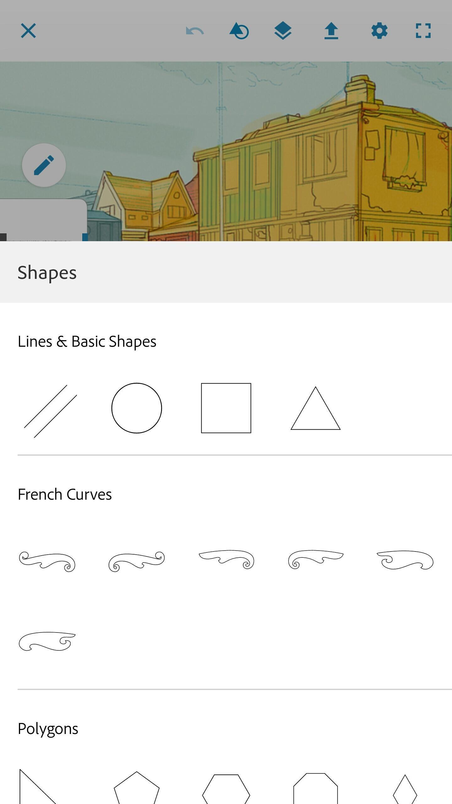 Adobe Photoshop Sketch 2.2.302 Screenshot 5