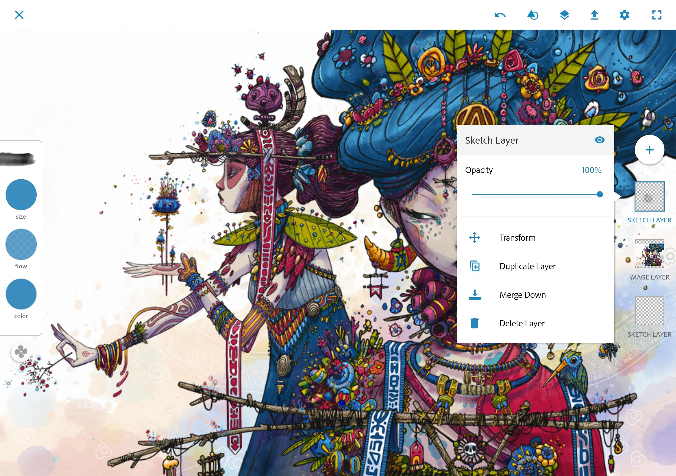 Adobe Photoshop Sketch 2.2.302 Screenshot 9