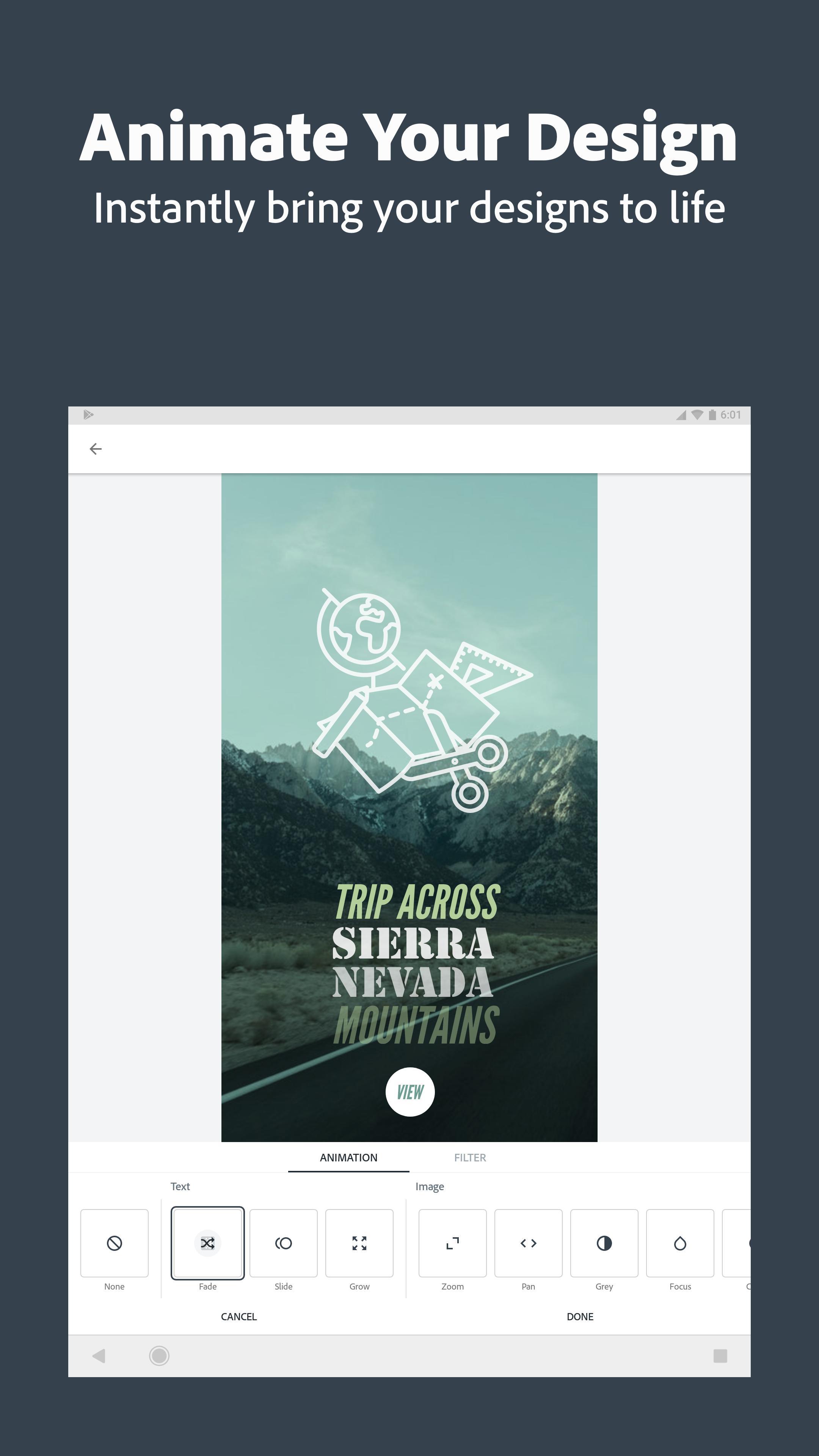Adobe Spark Post: Graphic design made easy 4.6.0 Screenshot 12