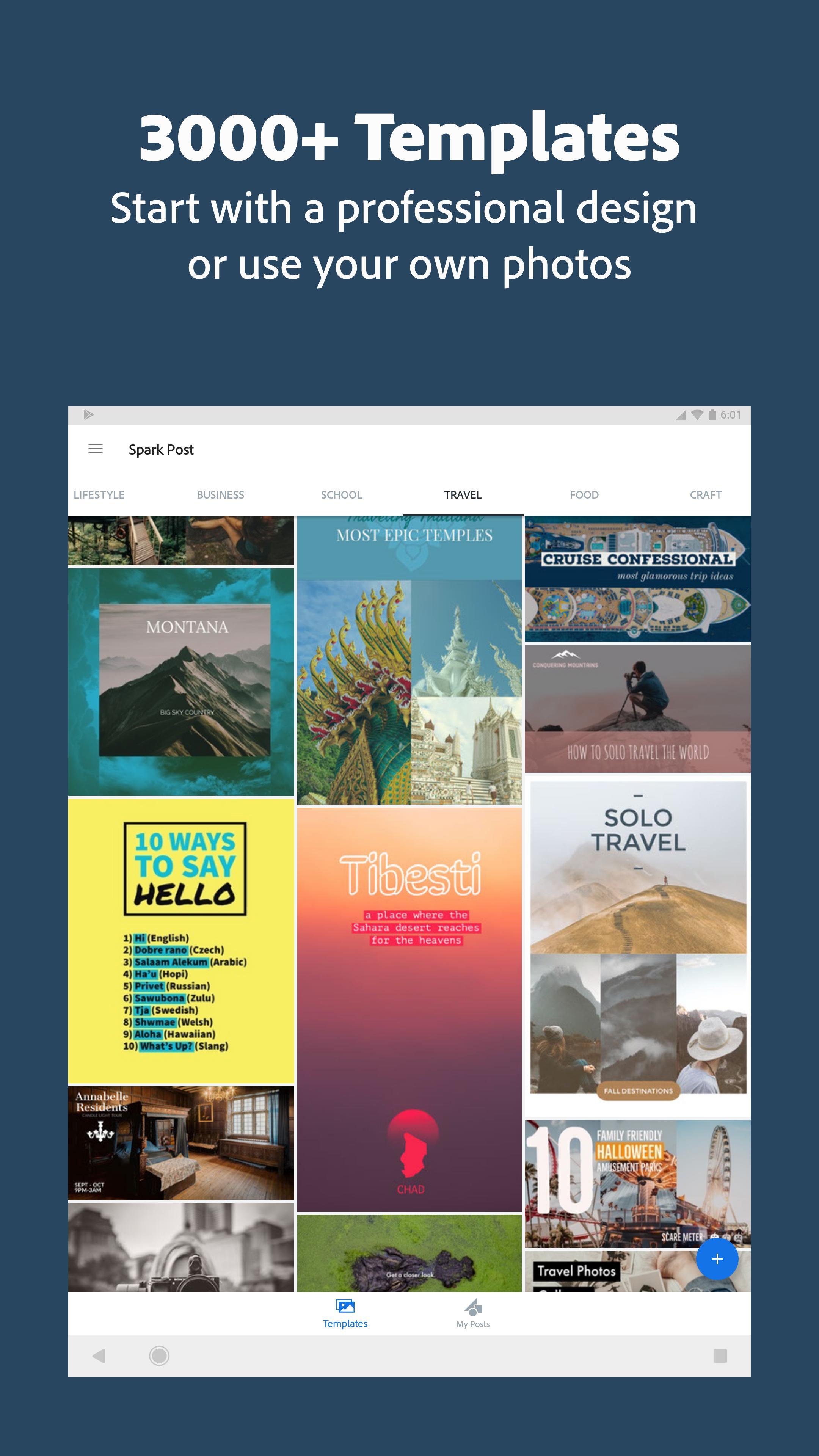 Adobe Spark Post: Graphic design made easy 4.6.0 Screenshot 15