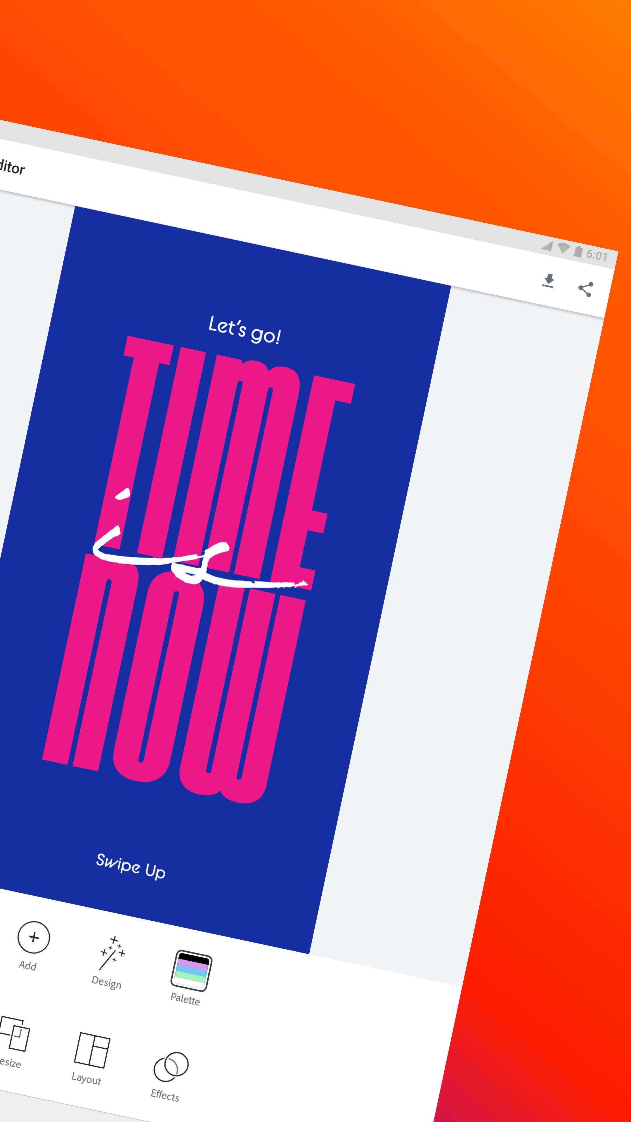 Adobe Spark Post: Graphic design made easy 4.6.0 Screenshot 18
