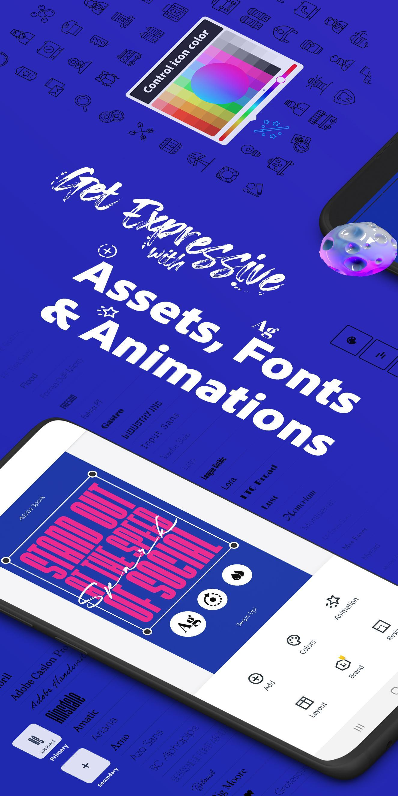 Adobe Spark Post: Graphic design made easy 4.6.0 Screenshot 3