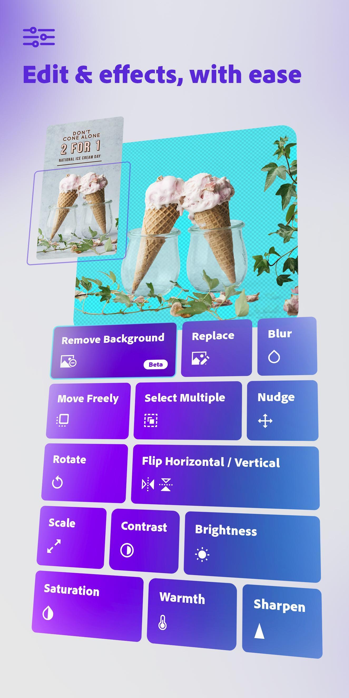 Adobe Spark Post: Graphic design made easy 4.6.0 Screenshot 7