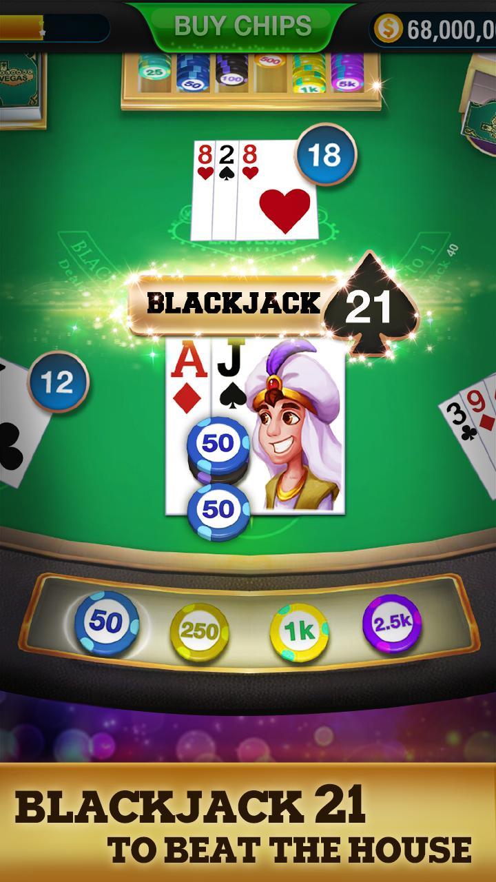 Blackjack 21 - FREE Black Jack 1.3.1 Screenshot 12