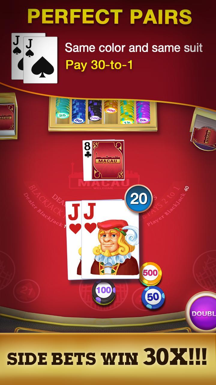 Blackjack 21 - FREE Black Jack 1.3.1 Screenshot 3