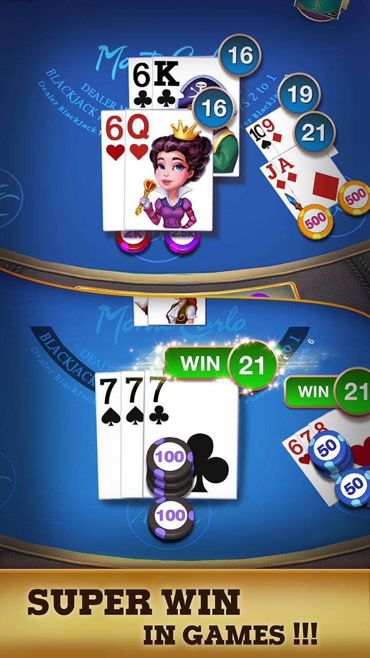 Blackjack 21 - FREE Black Jack 1.3.1 Screenshot 4