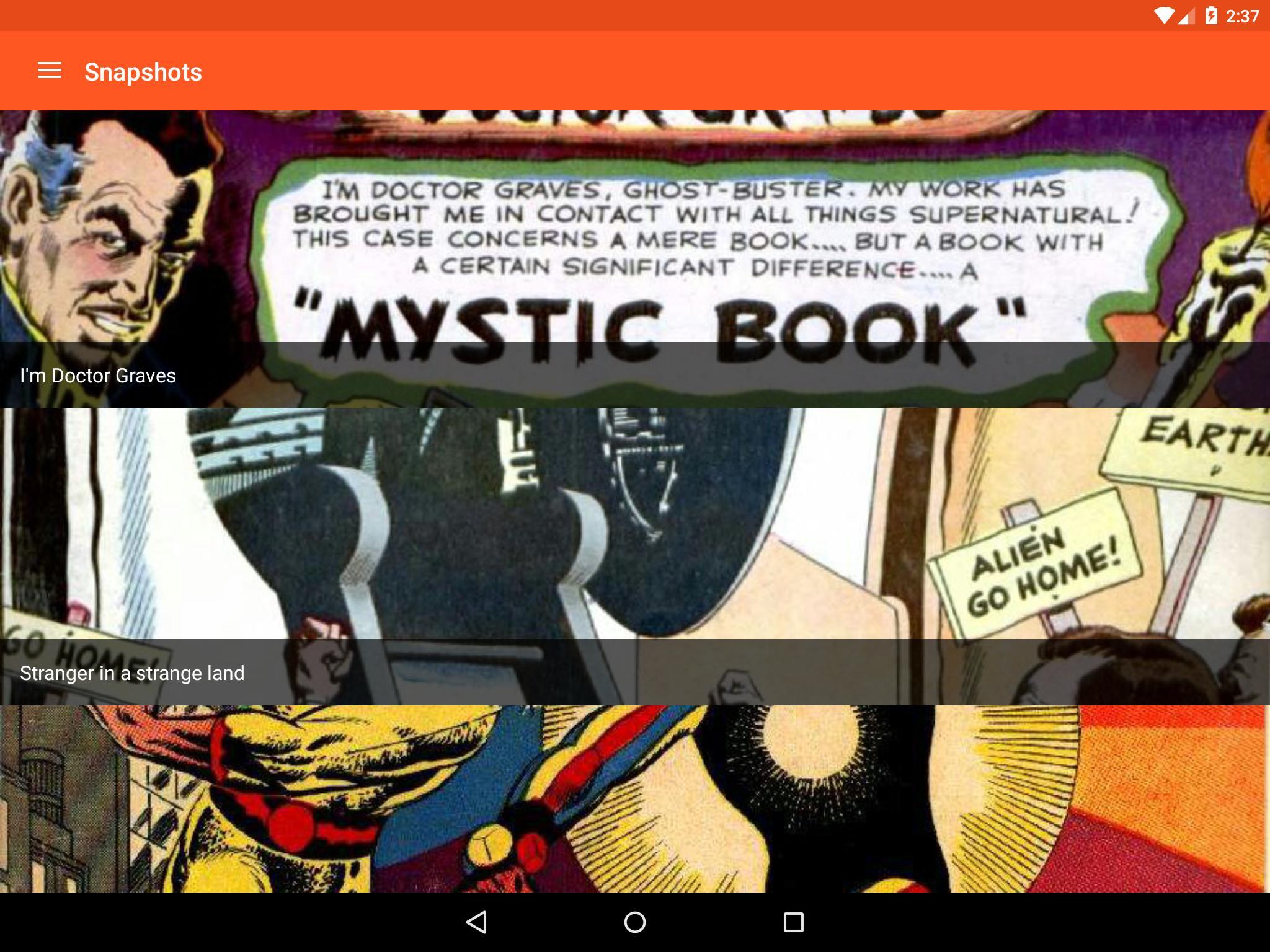 Astonishing Comic Reader 3.32 Screenshot 11