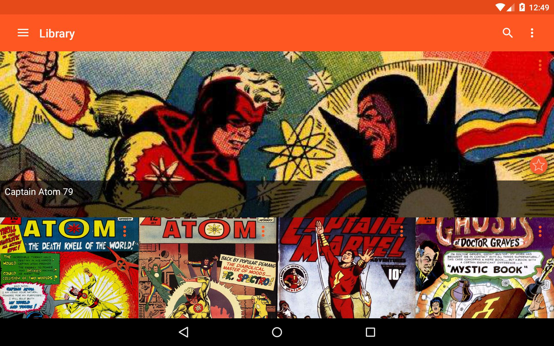 Astonishing Comic Reader 3.32 Screenshot 14