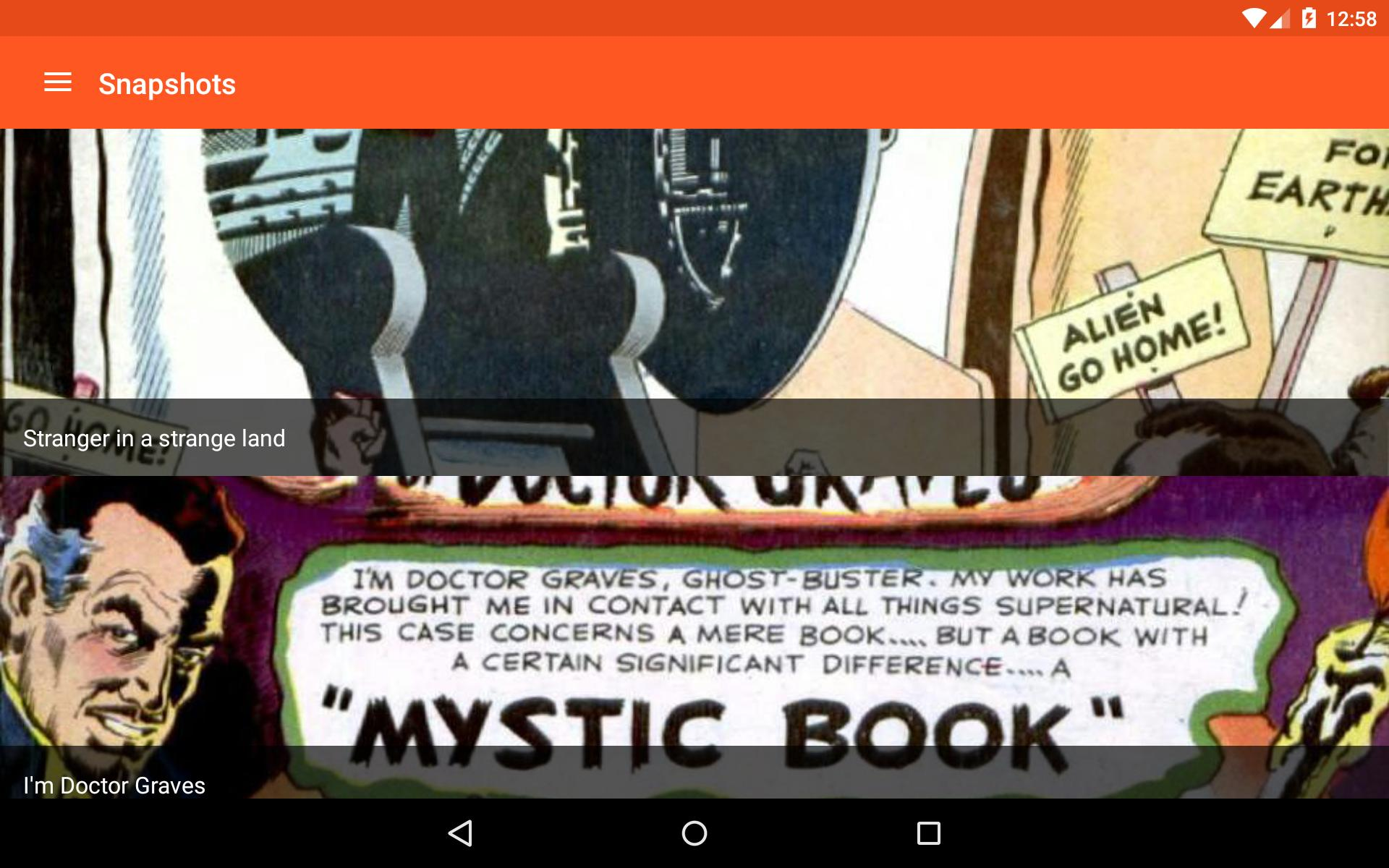 Astonishing Comic Reader 3.32 Screenshot 16