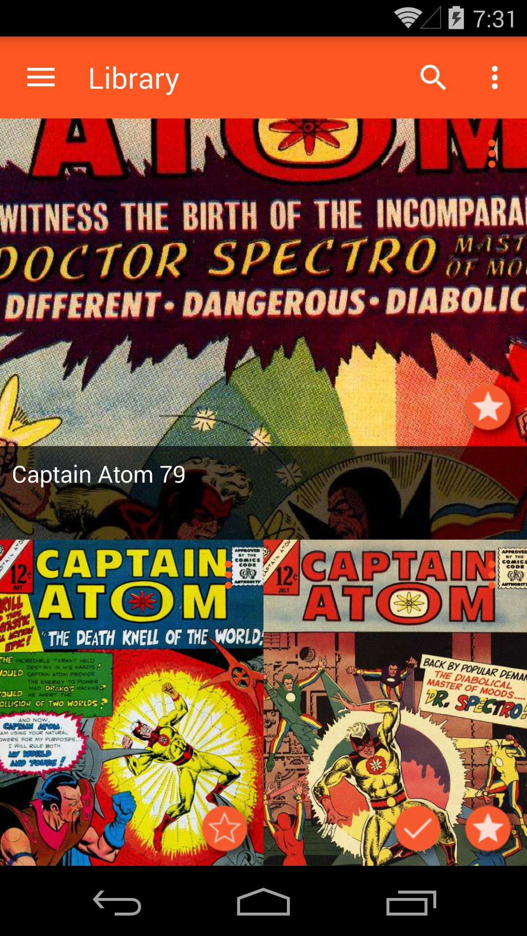 Astonishing Comic Reader 3.32 Screenshot 4