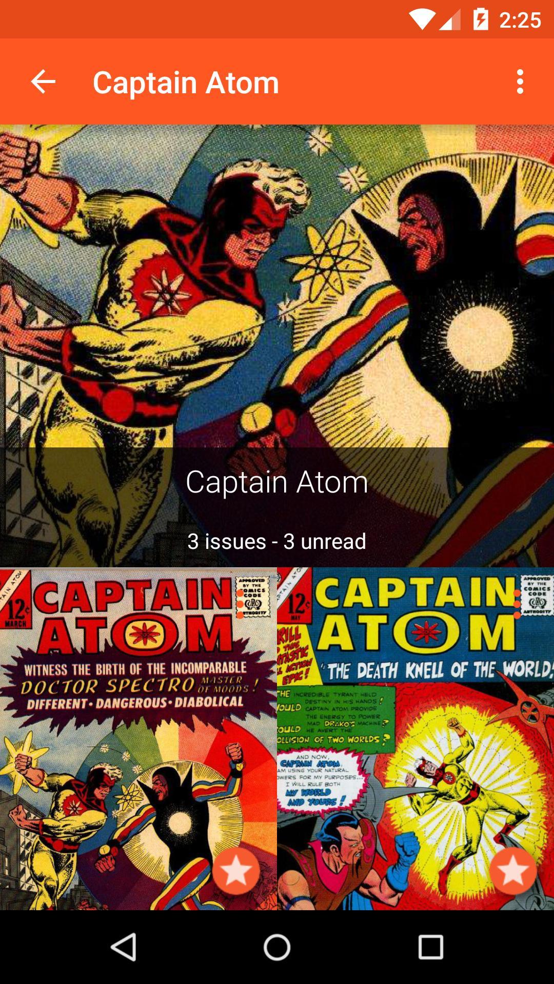 Astonishing Comic Reader 3.32 Screenshot 5