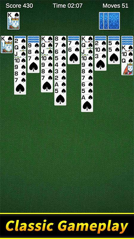 Spider Solitaire 1.10.4.203 Screenshot 1