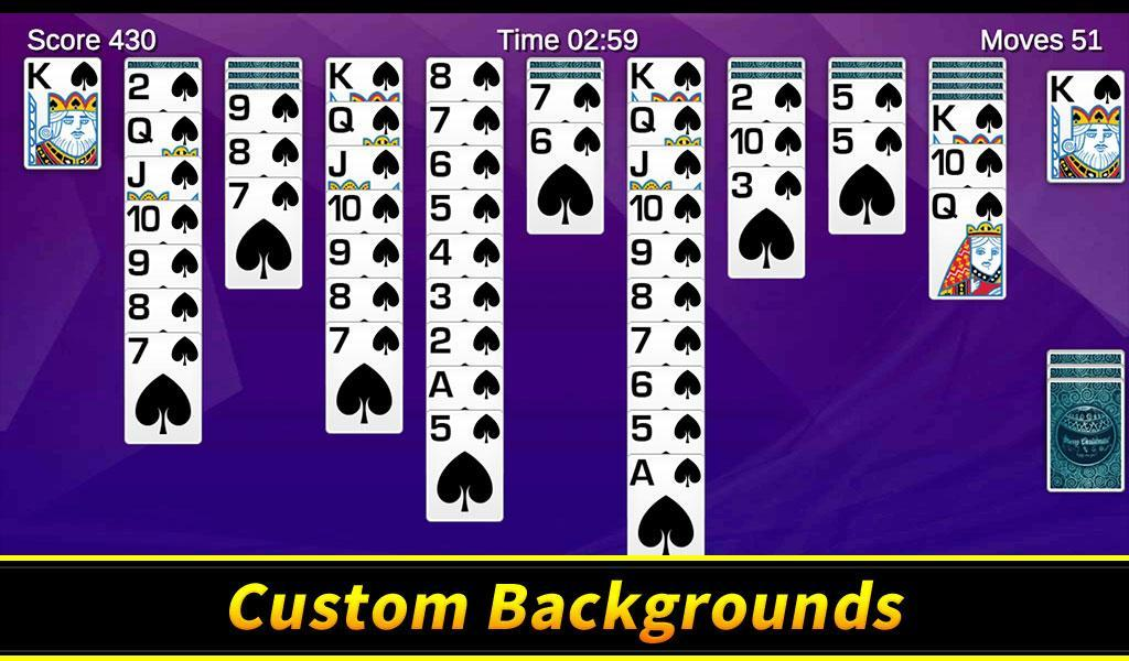 Spider Solitaire 1.10.4.203 Screenshot 12