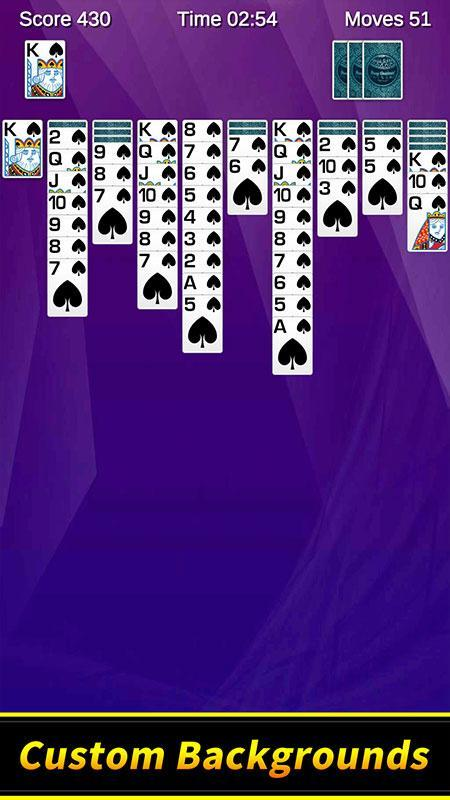 Spider Solitaire 1.10.4.203 Screenshot 2