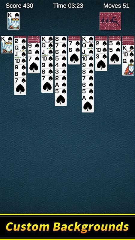 Spider Solitaire 1.10.4.203 Screenshot 3