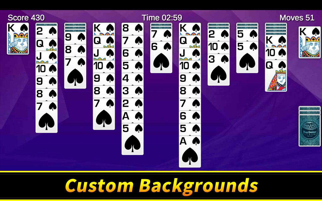 Spider Solitaire 1.10.4.203 Screenshot 7