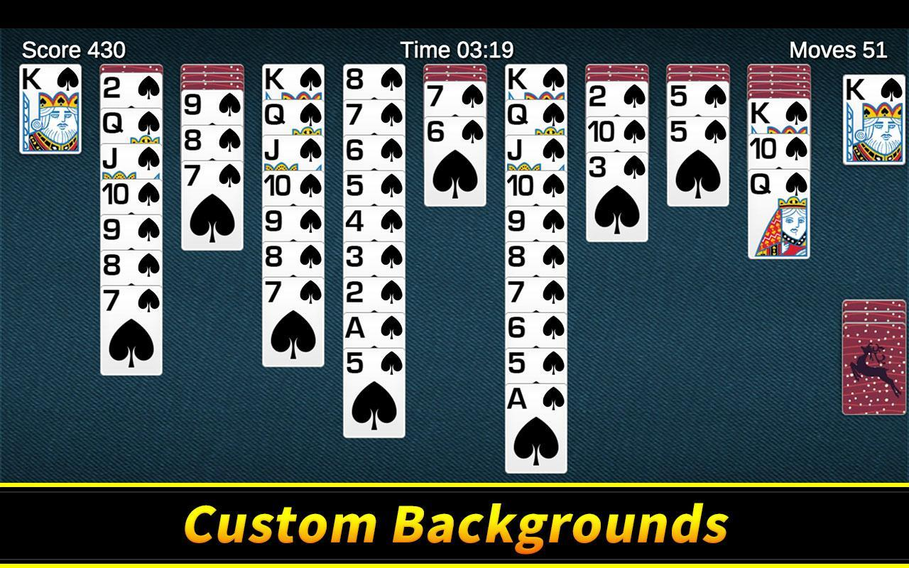Spider Solitaire 1.10.4.203 Screenshot 8