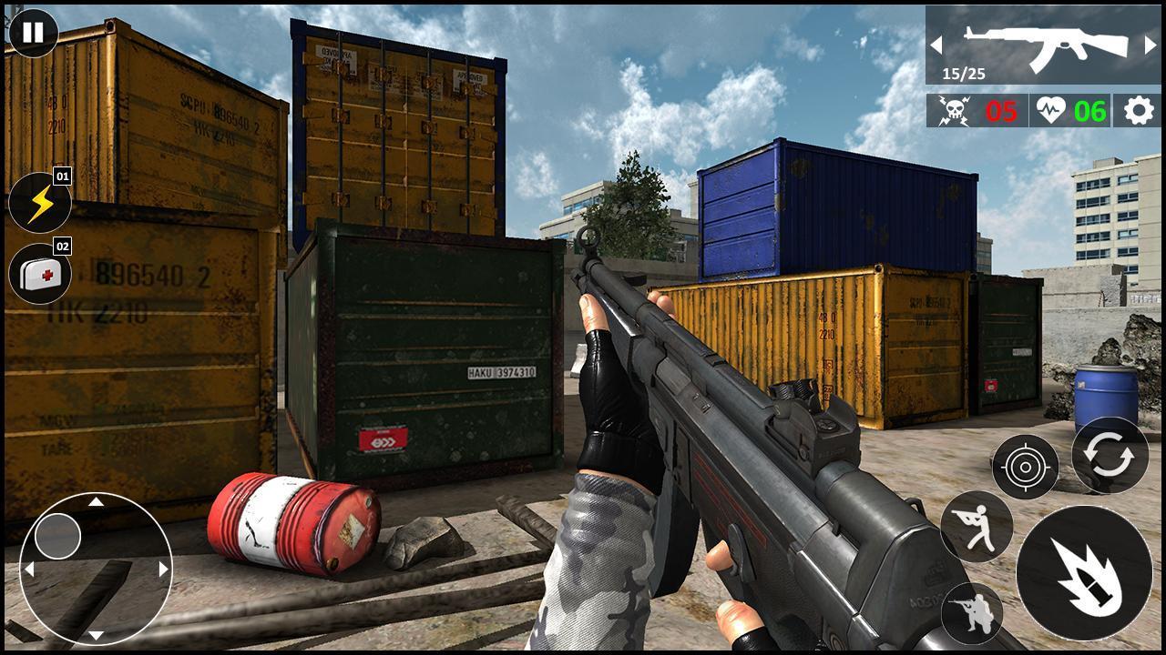 Critical Warfare US Army Counter Terrorist Strike 1.0.5 Screenshot 4