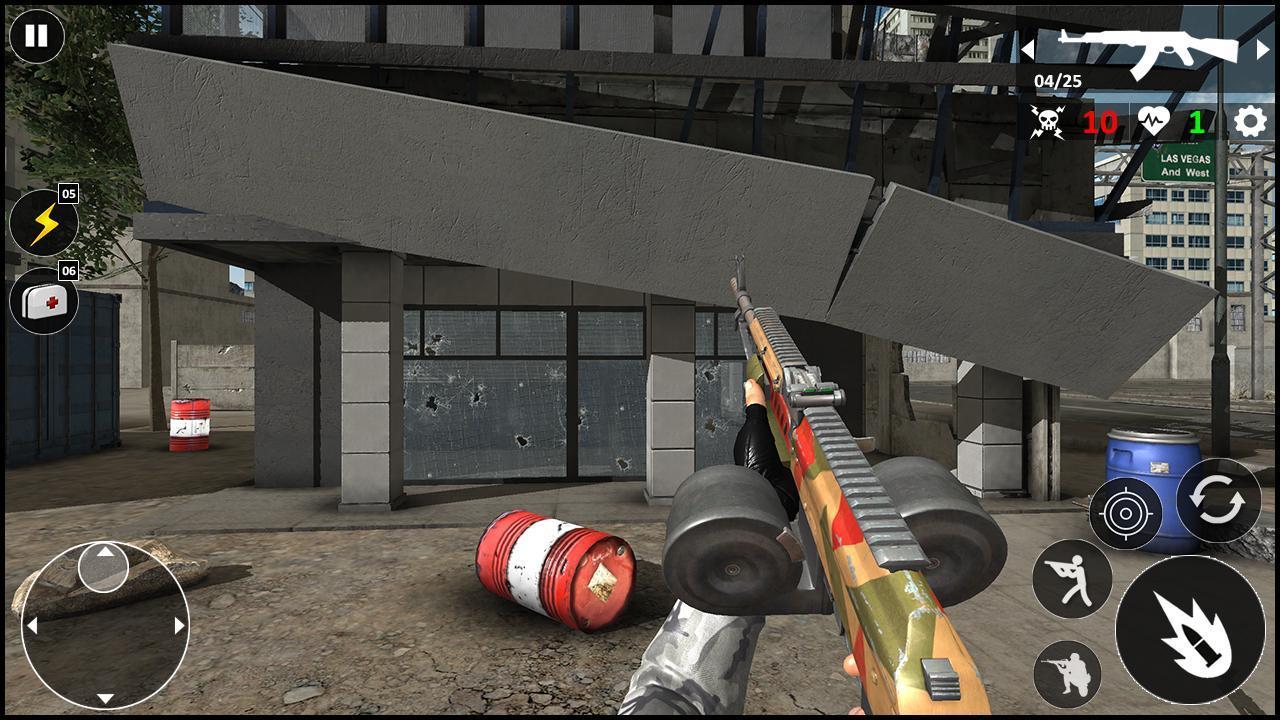 Critical Warfare US Army Counter Terrorist Strike 1.0.5 Screenshot 5
