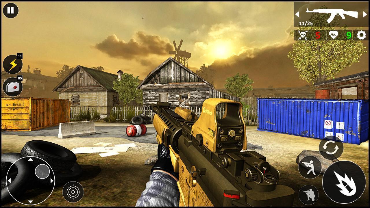 Critical Warfare US Army Counter Terrorist Strike 1.0.5 Screenshot 7