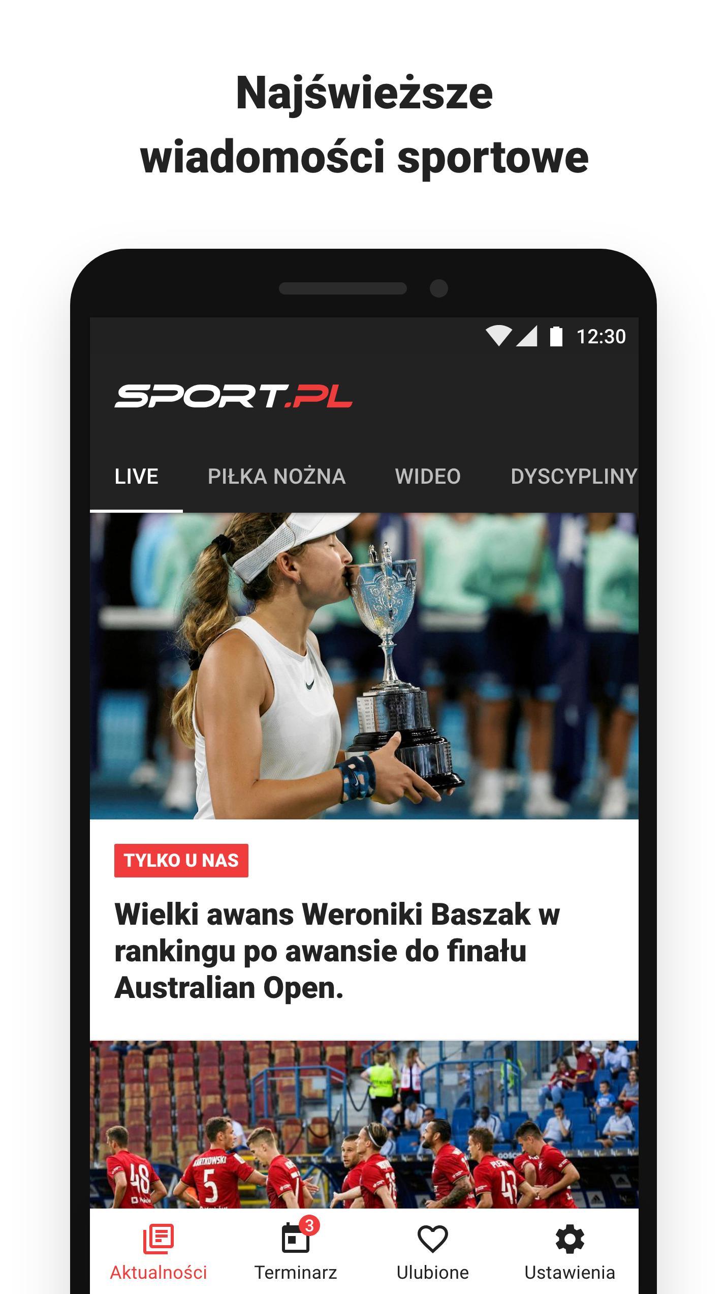 Sport.pl LIVE 3.4.10.0 Screenshot 1