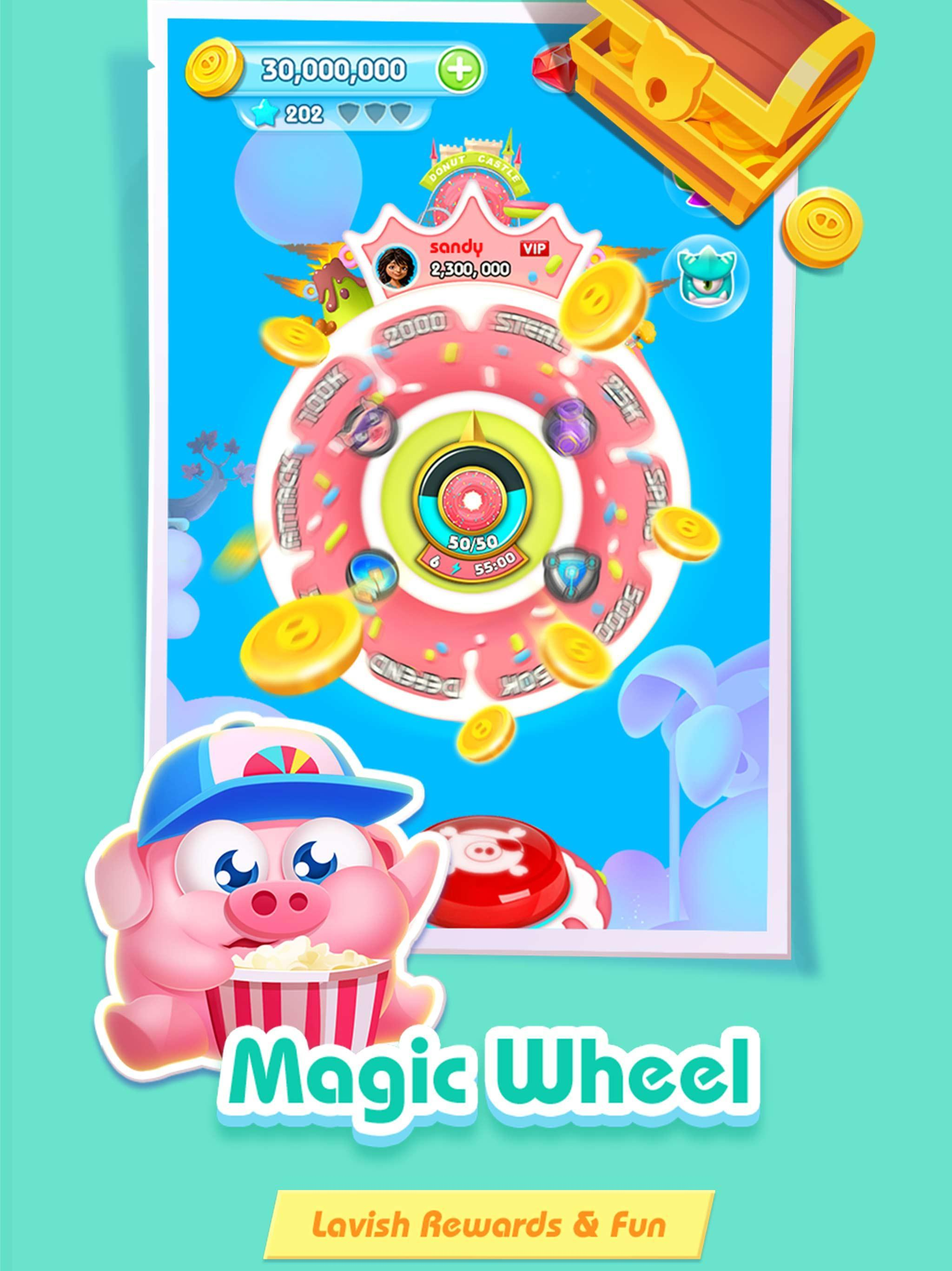 Piggy Boom Happy treasure 3.14.0 Screenshot 9