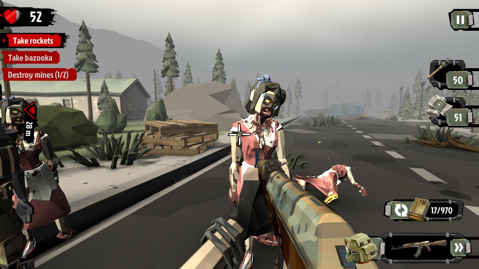 The Walking Zombie 2 Zombie shooter 3.4.2 Screenshot 3