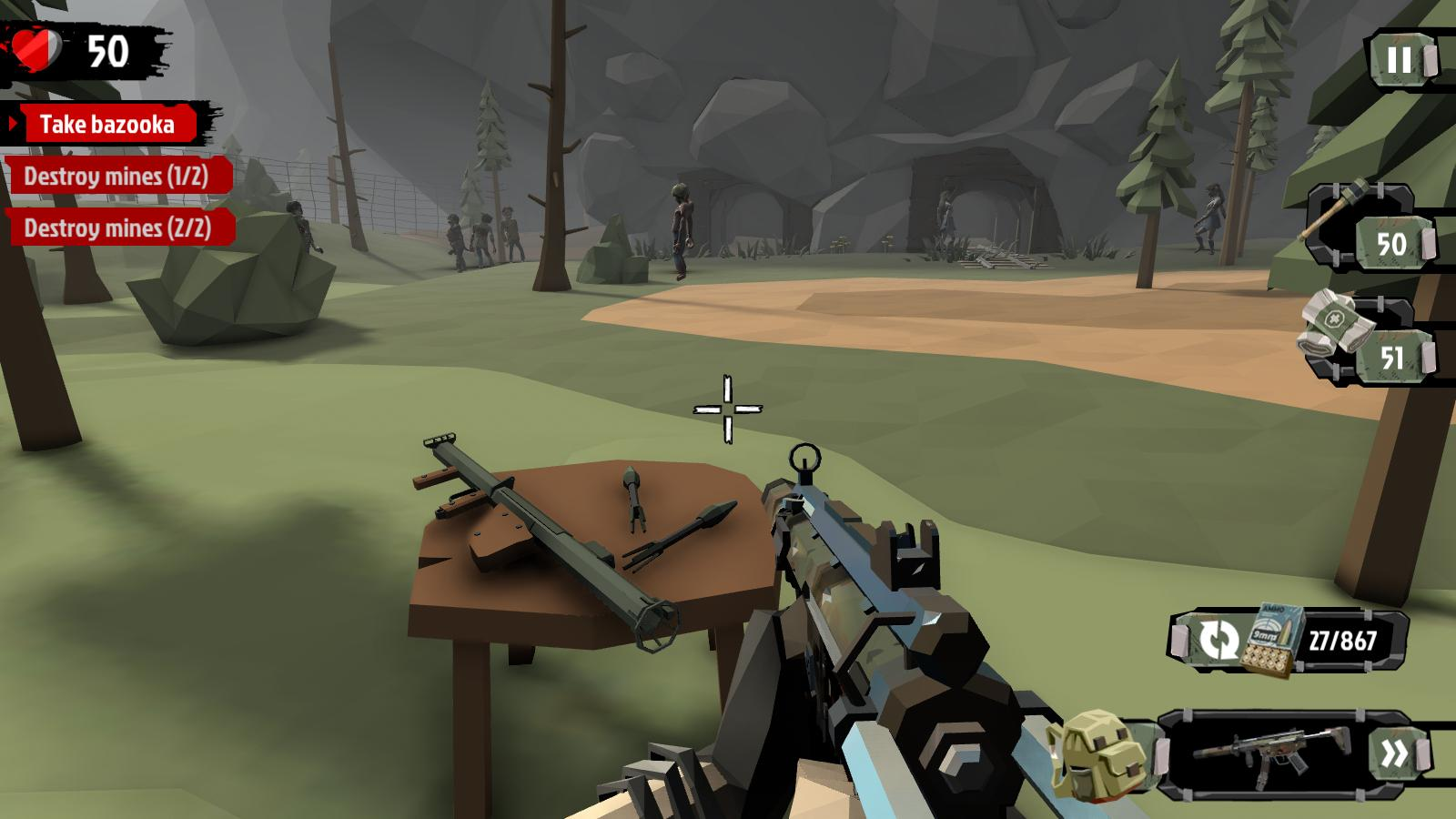 The Walking Zombie 2 Zombie shooter 3.4.2 Screenshot 4