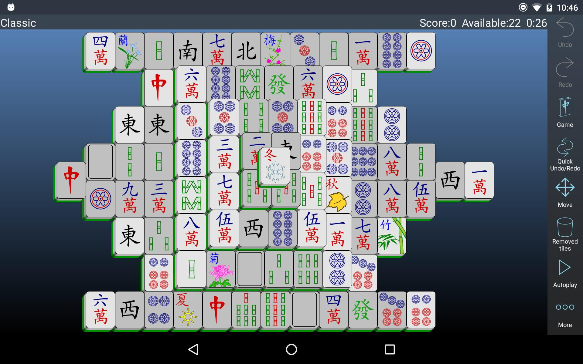 Mahjongg Builder 2.2.0 Screenshot 10