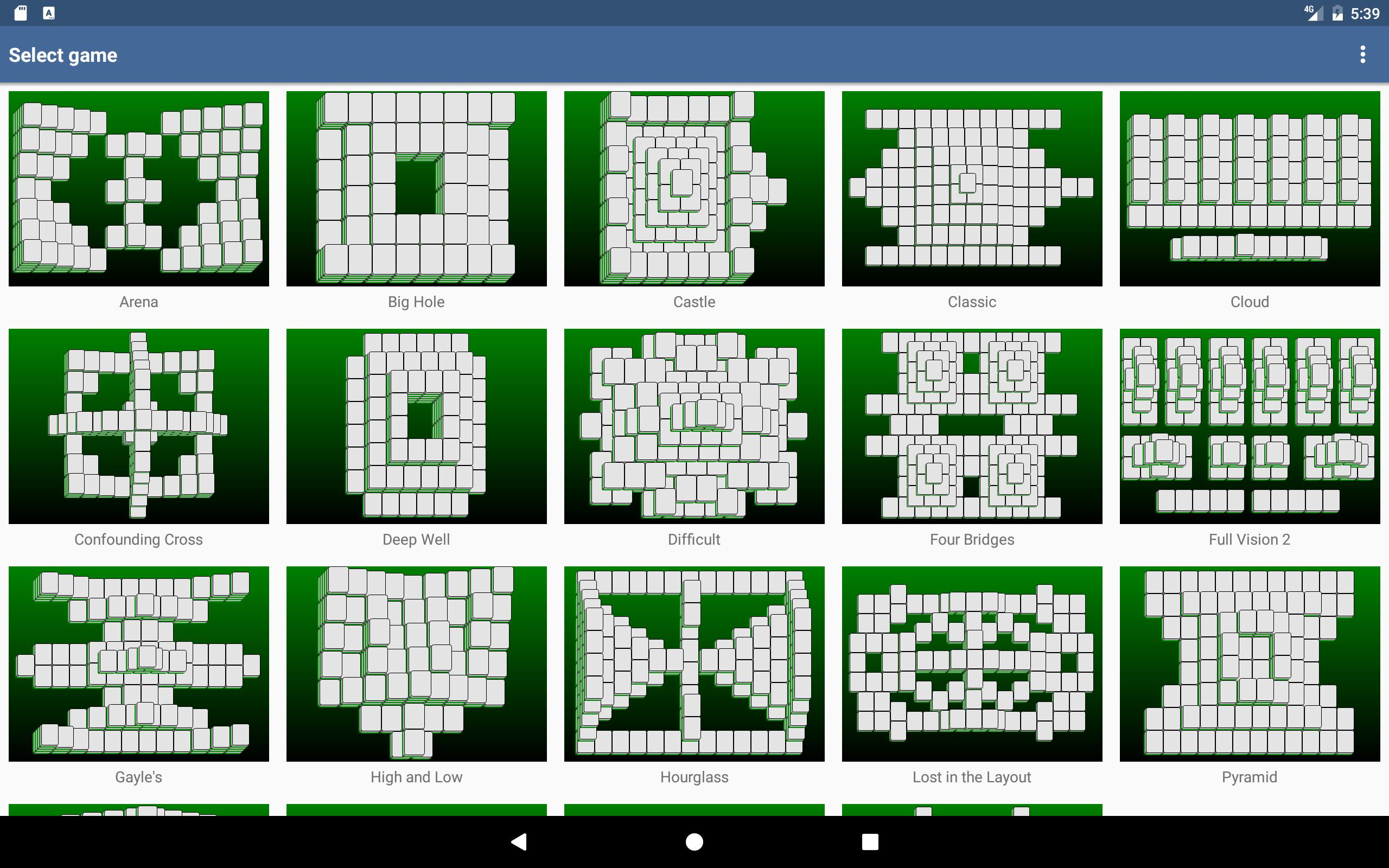 Mahjongg Builder 2.2.0 Screenshot 6