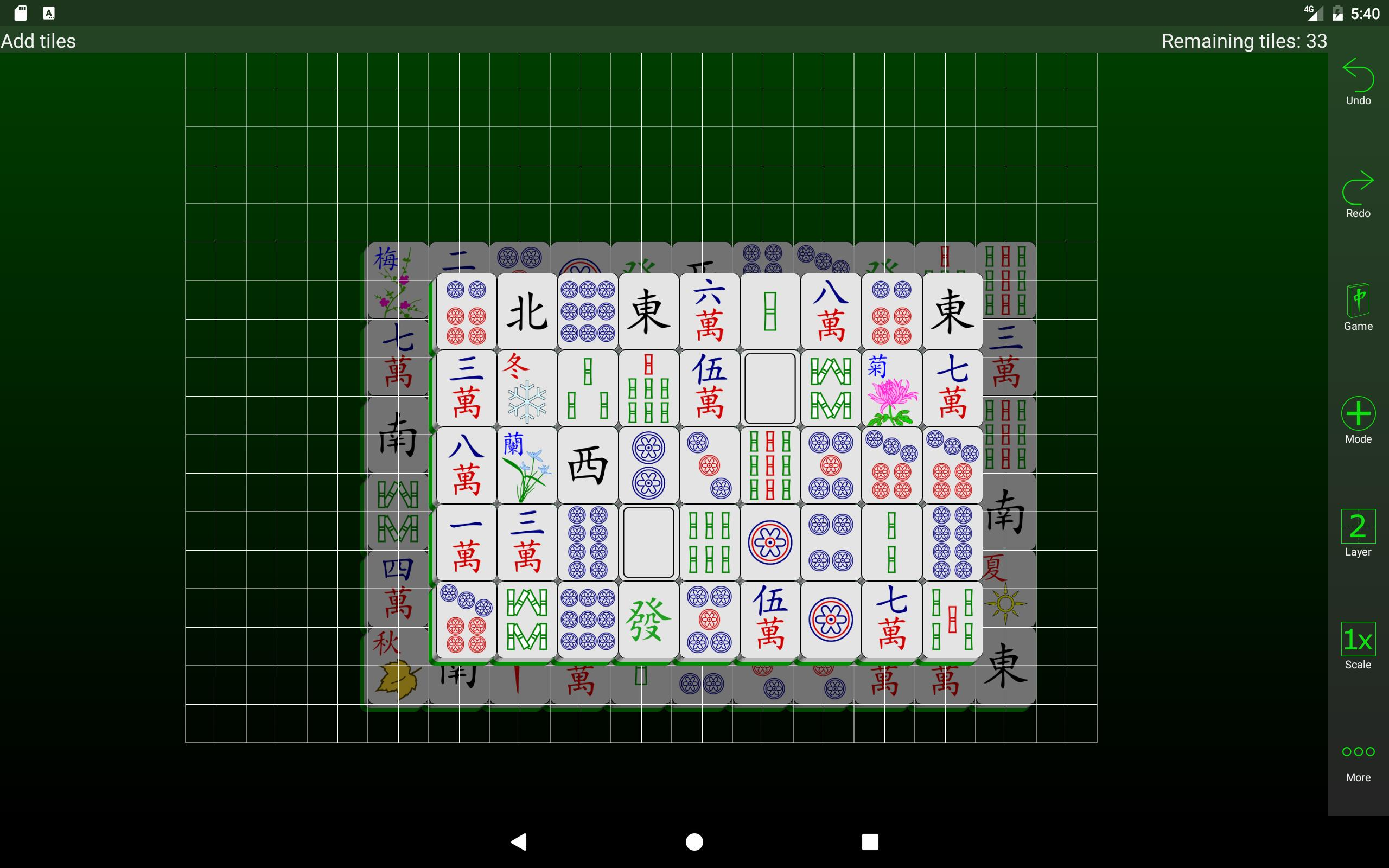 Mahjongg Builder 2.2.0 Screenshot 8