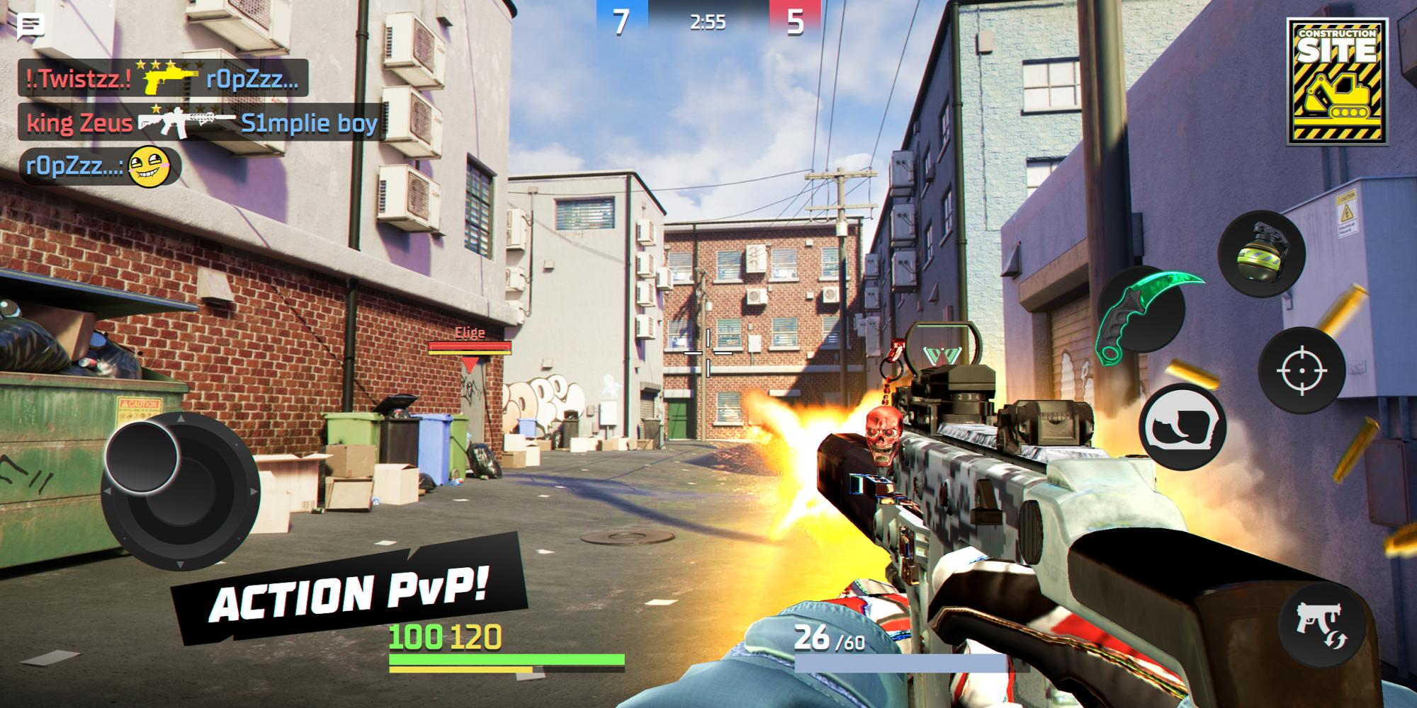 Action Strike Online PvP FPS 0.9.33 Screenshot 1