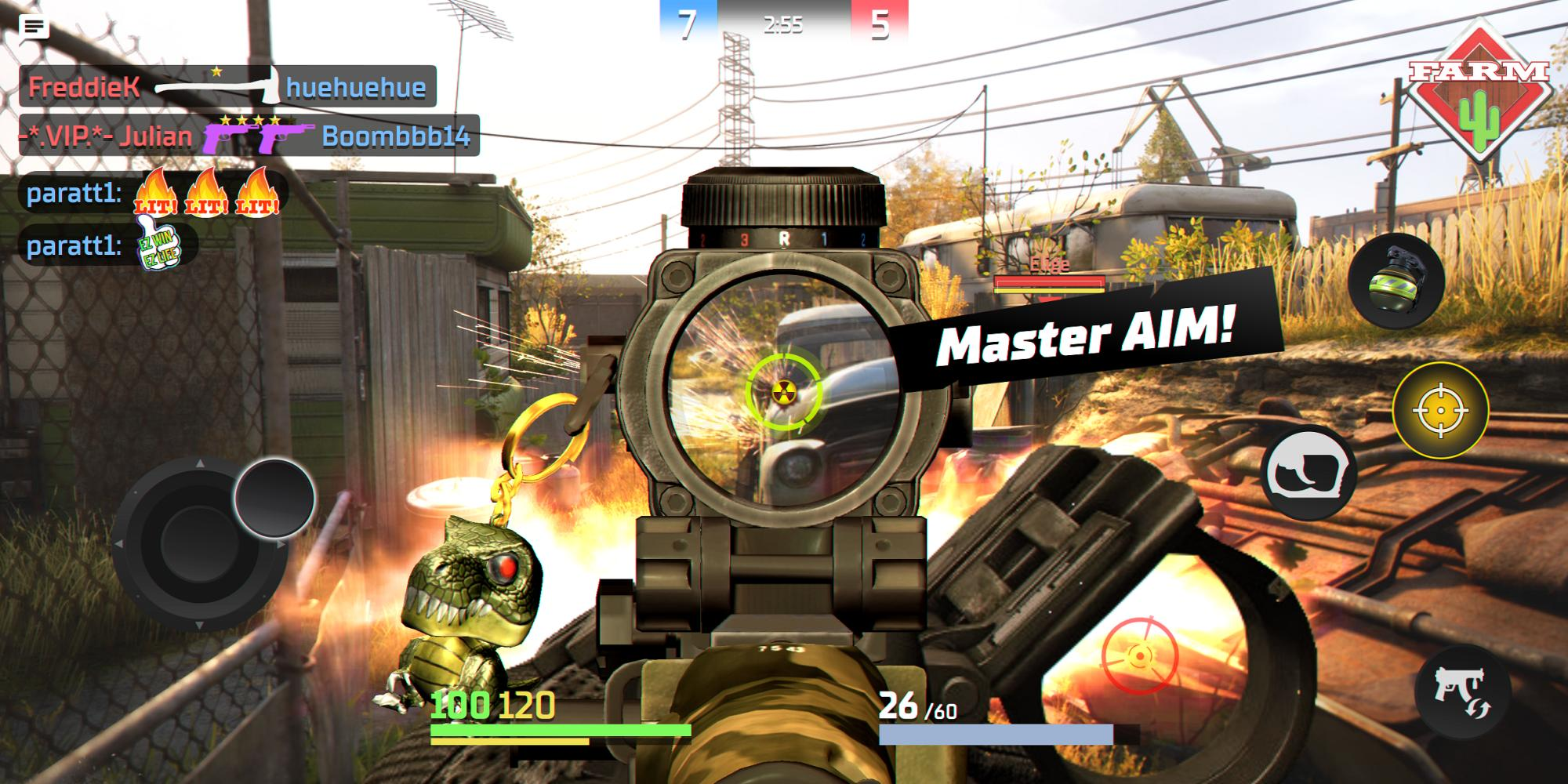 Action Strike Online PvP FPS 0.9.33 Screenshot 4