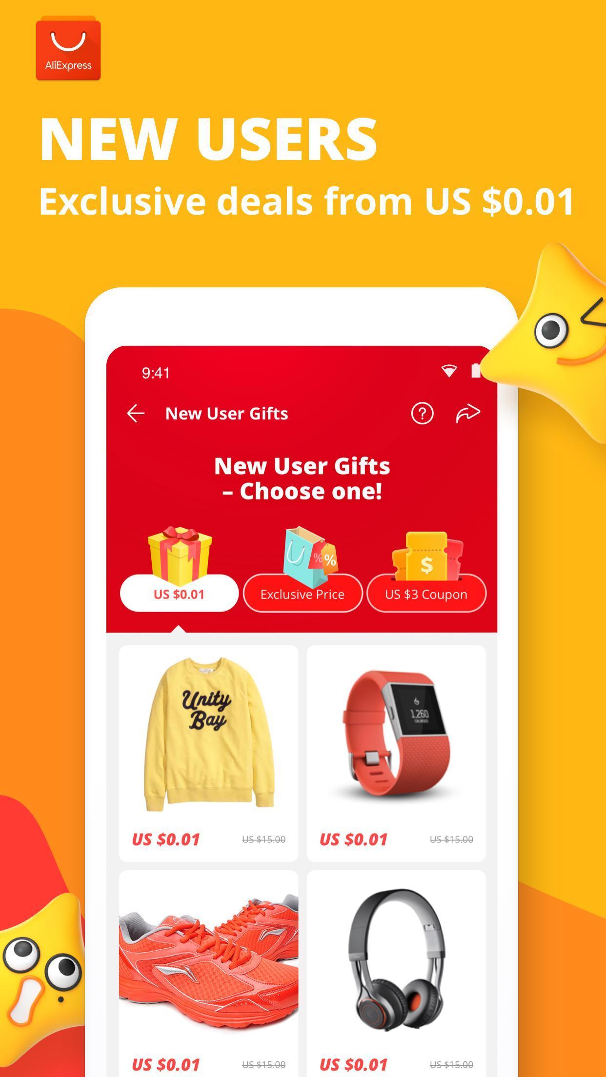 AliExpress Smarter Shopping, Better Living 8.3.3 Screenshot 1