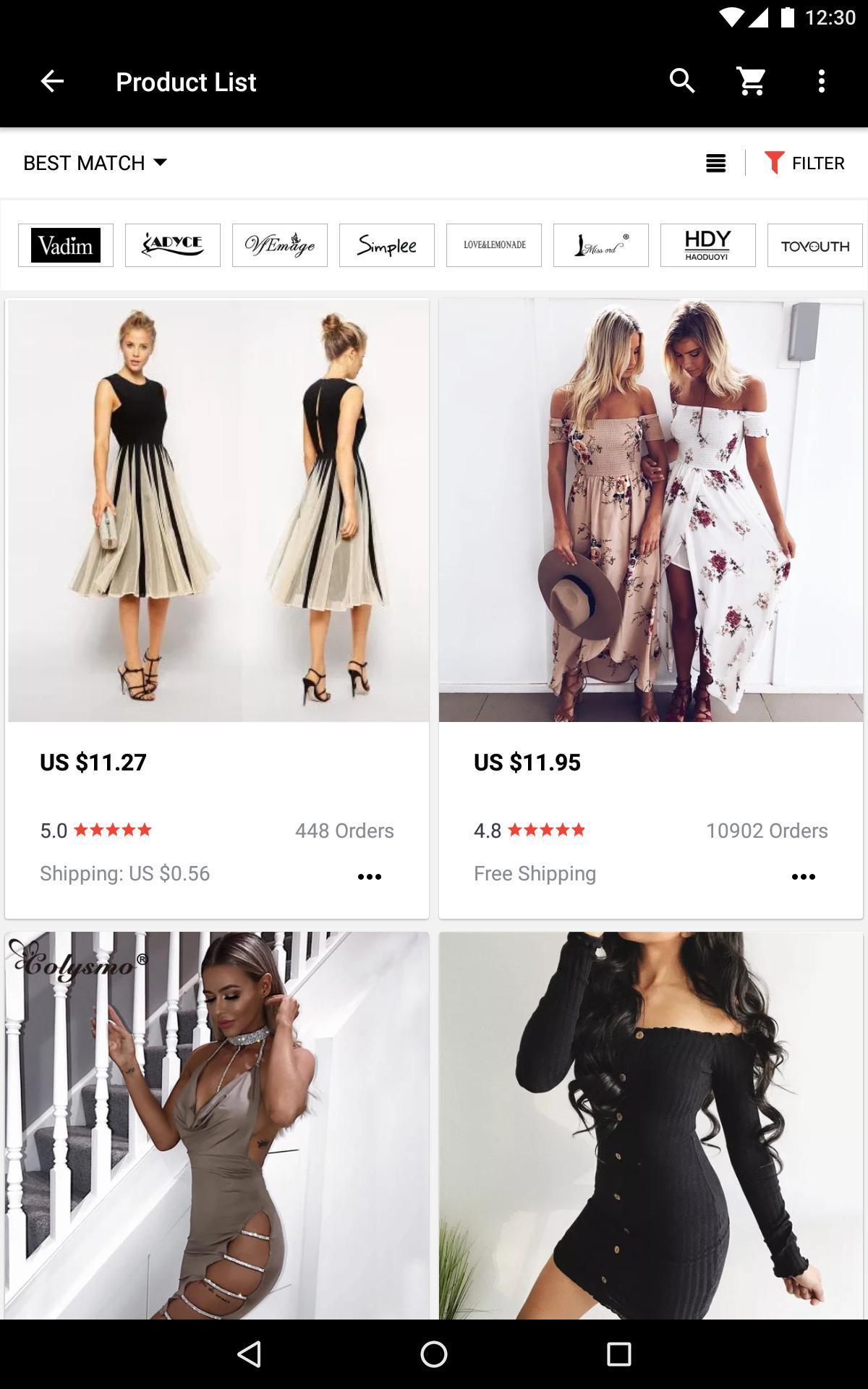 AliExpress Smarter Shopping, Better Living 8.3.3 Screenshot 13