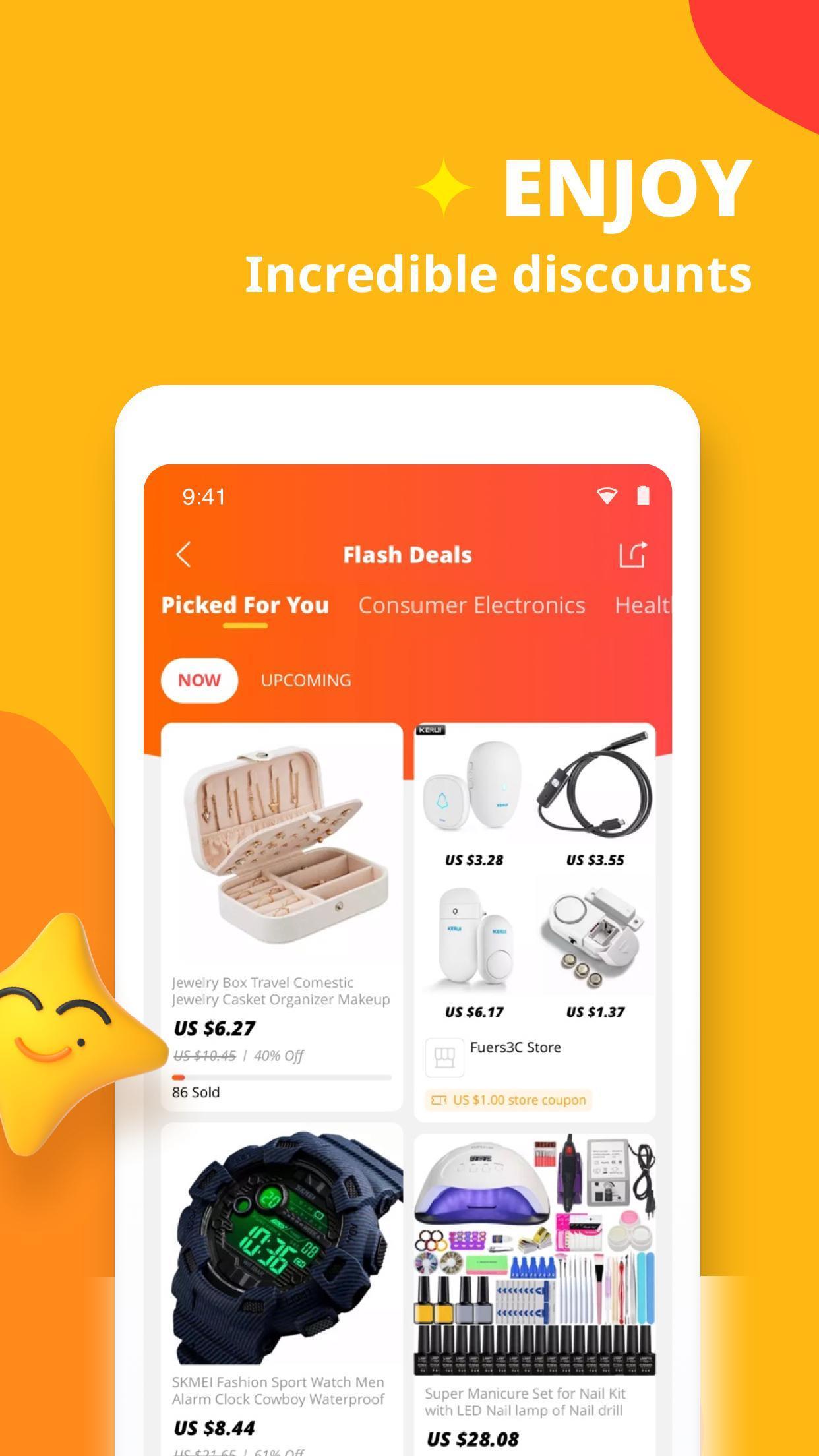 AliExpress Smarter Shopping, Better Living 8.3.3 Screenshot 3