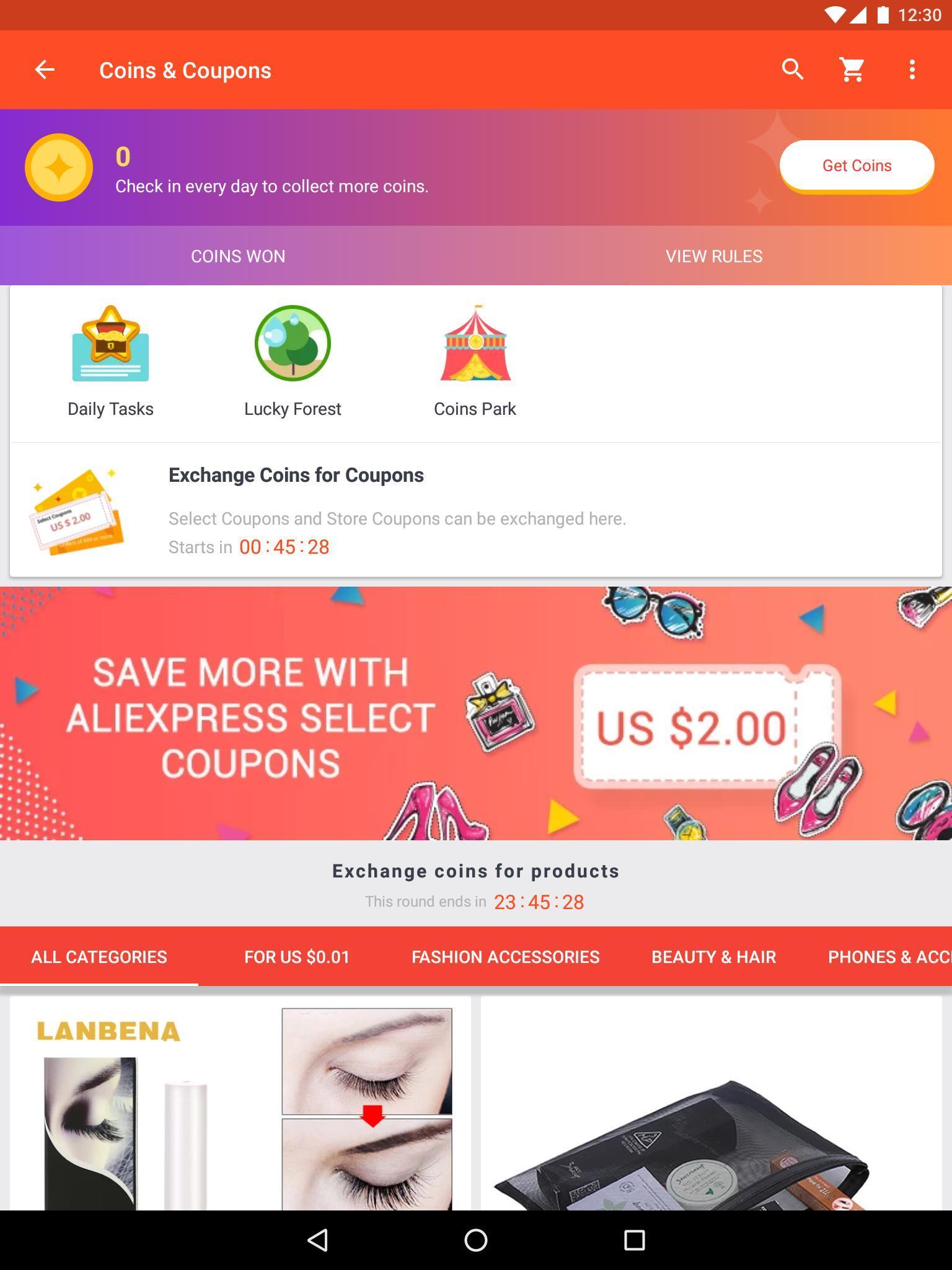 AliExpress Smarter Shopping, Better Living 8.3.3 Screenshot 8