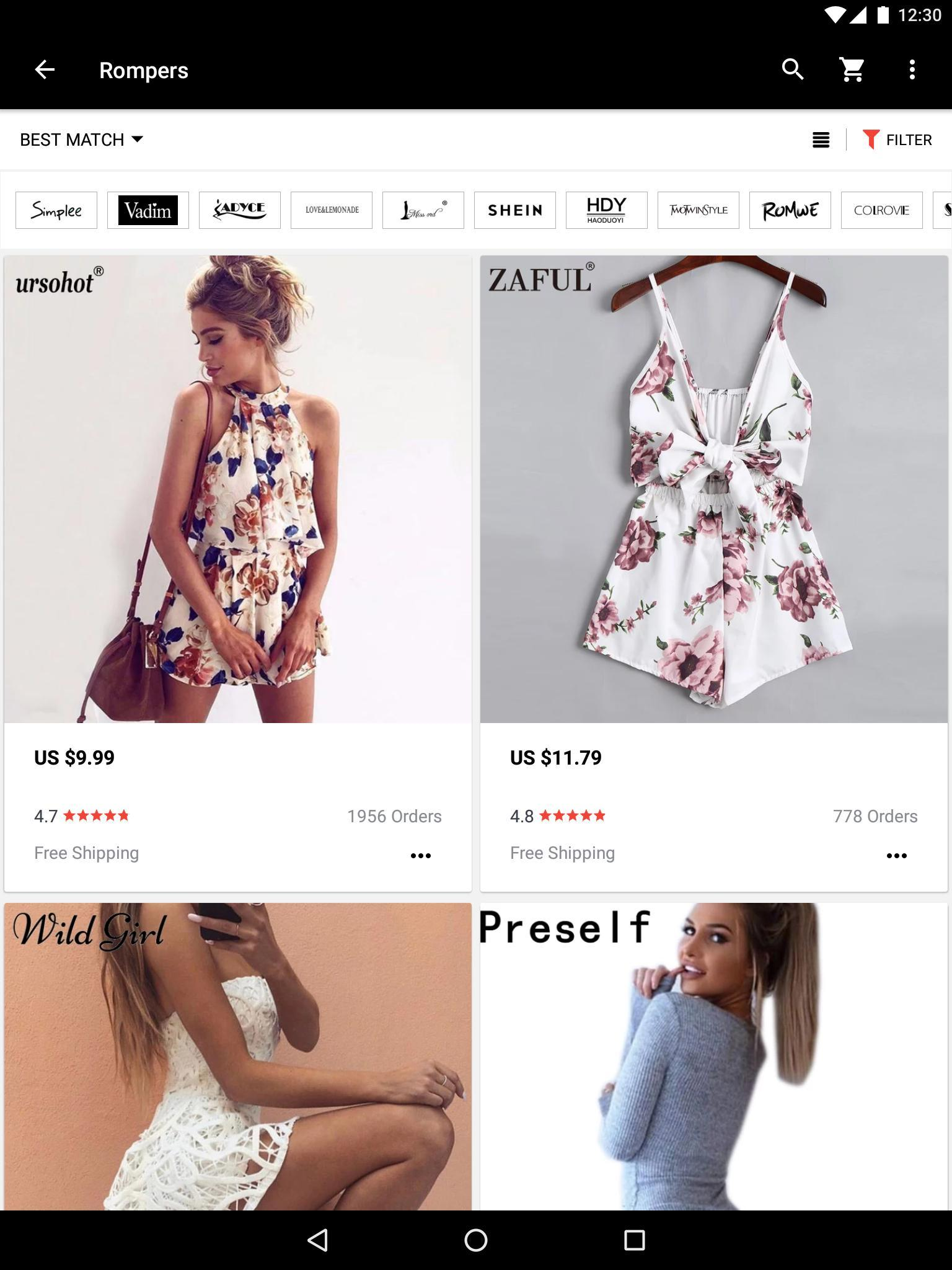 AliExpress Smarter Shopping, Better Living 8.3.3 Screenshot 9