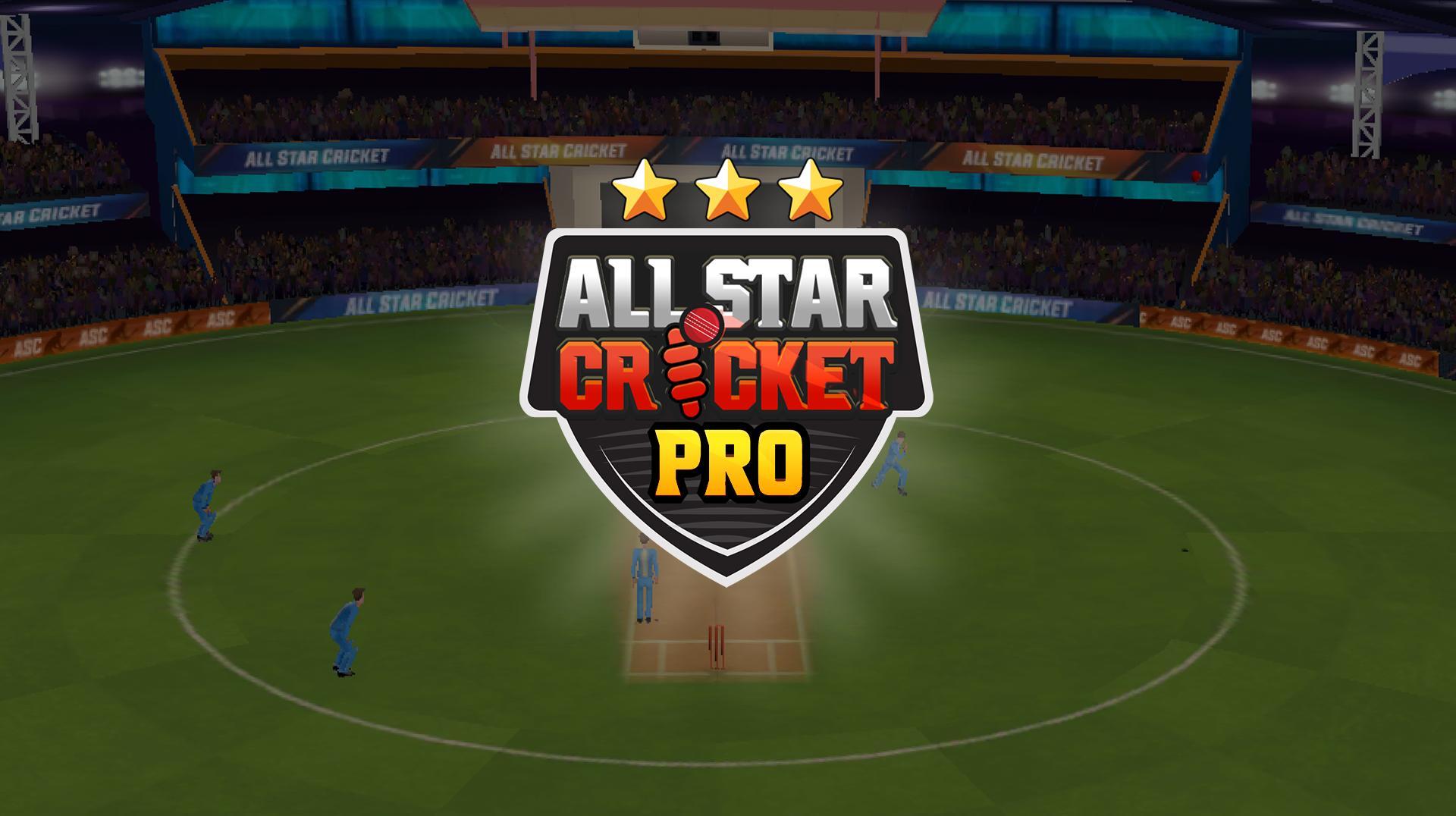 All Star Cricket Pro screenshot