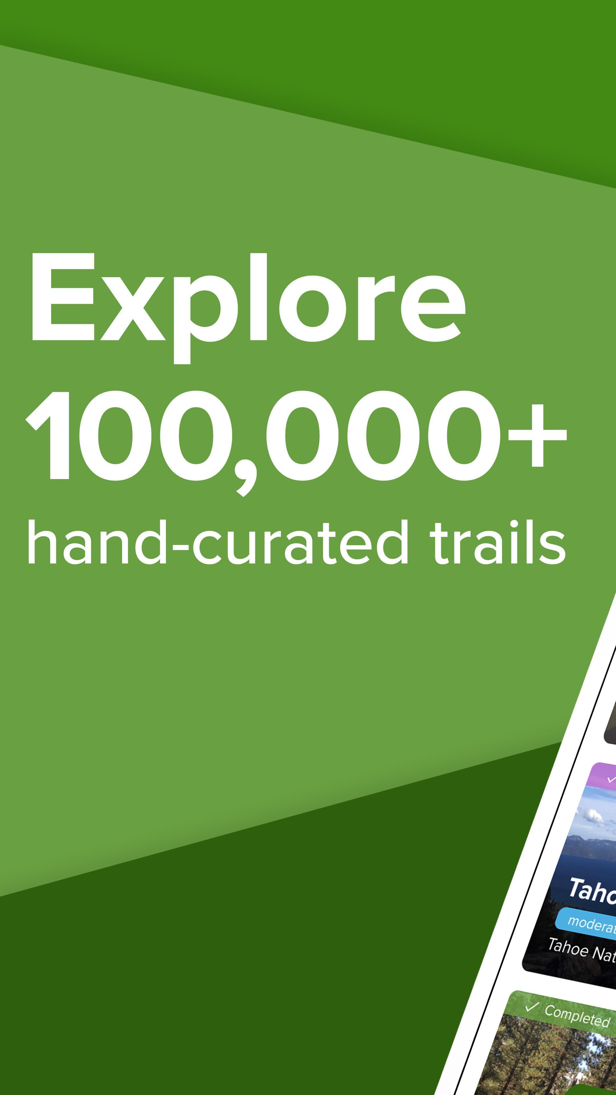 AllTrails Hiking, Running & Mountain Bike Trails 9.1.10 Screenshot 1