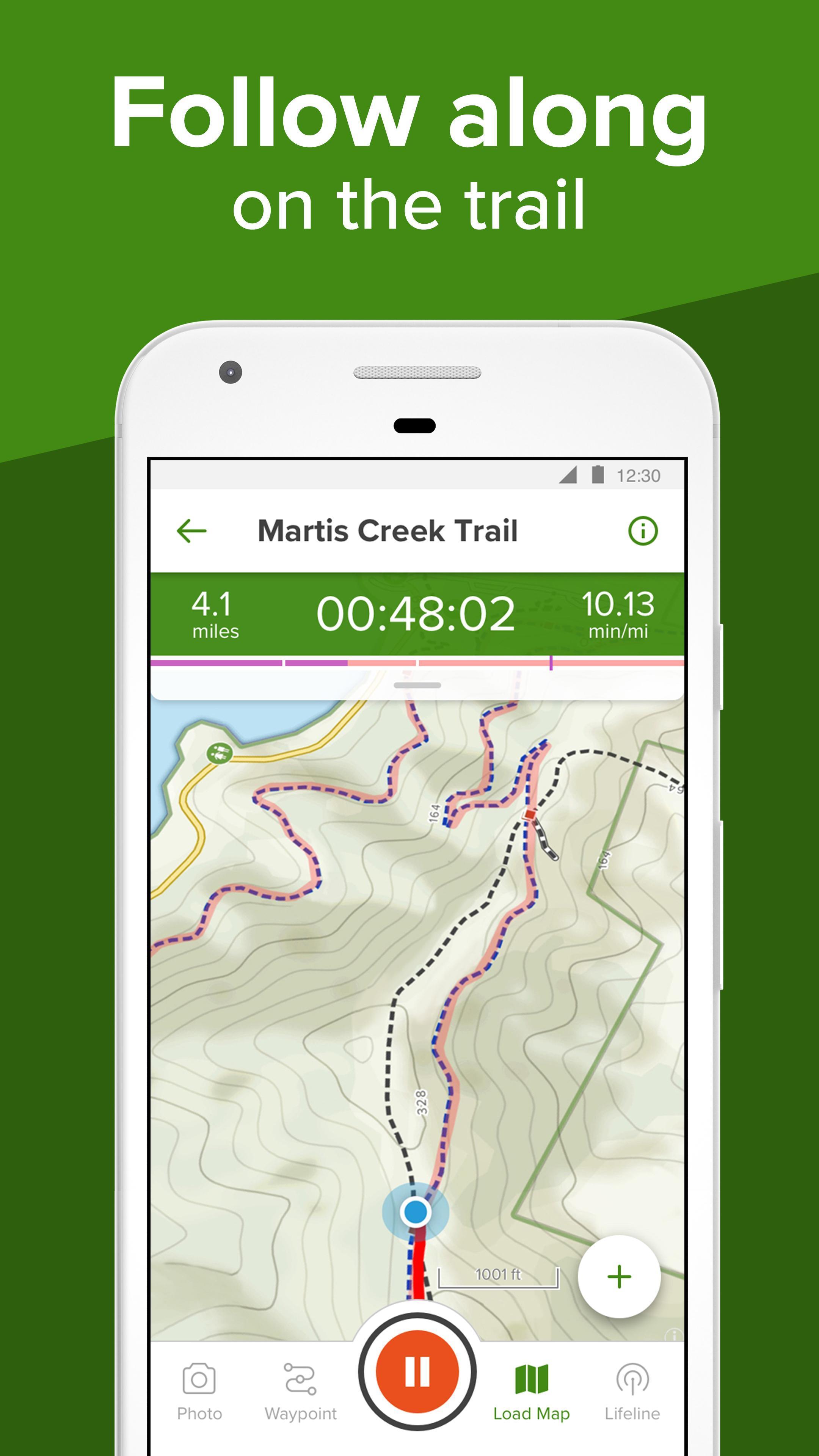 AllTrails Hiking, Running & Mountain Bike Trails 9.1.10 Screenshot 4