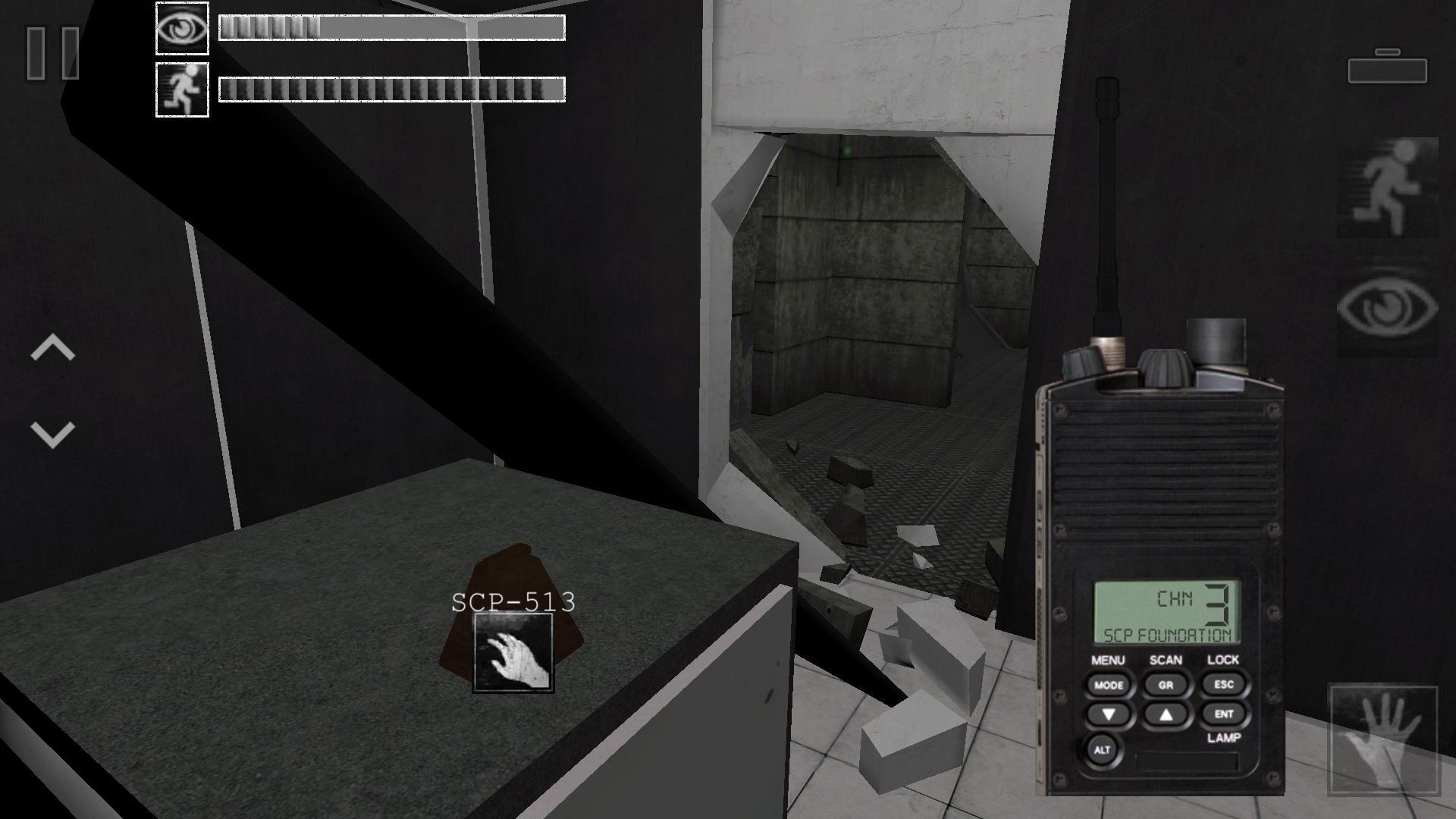 SCP - Containment Breach Mobile 1.0.1 Screenshot 3