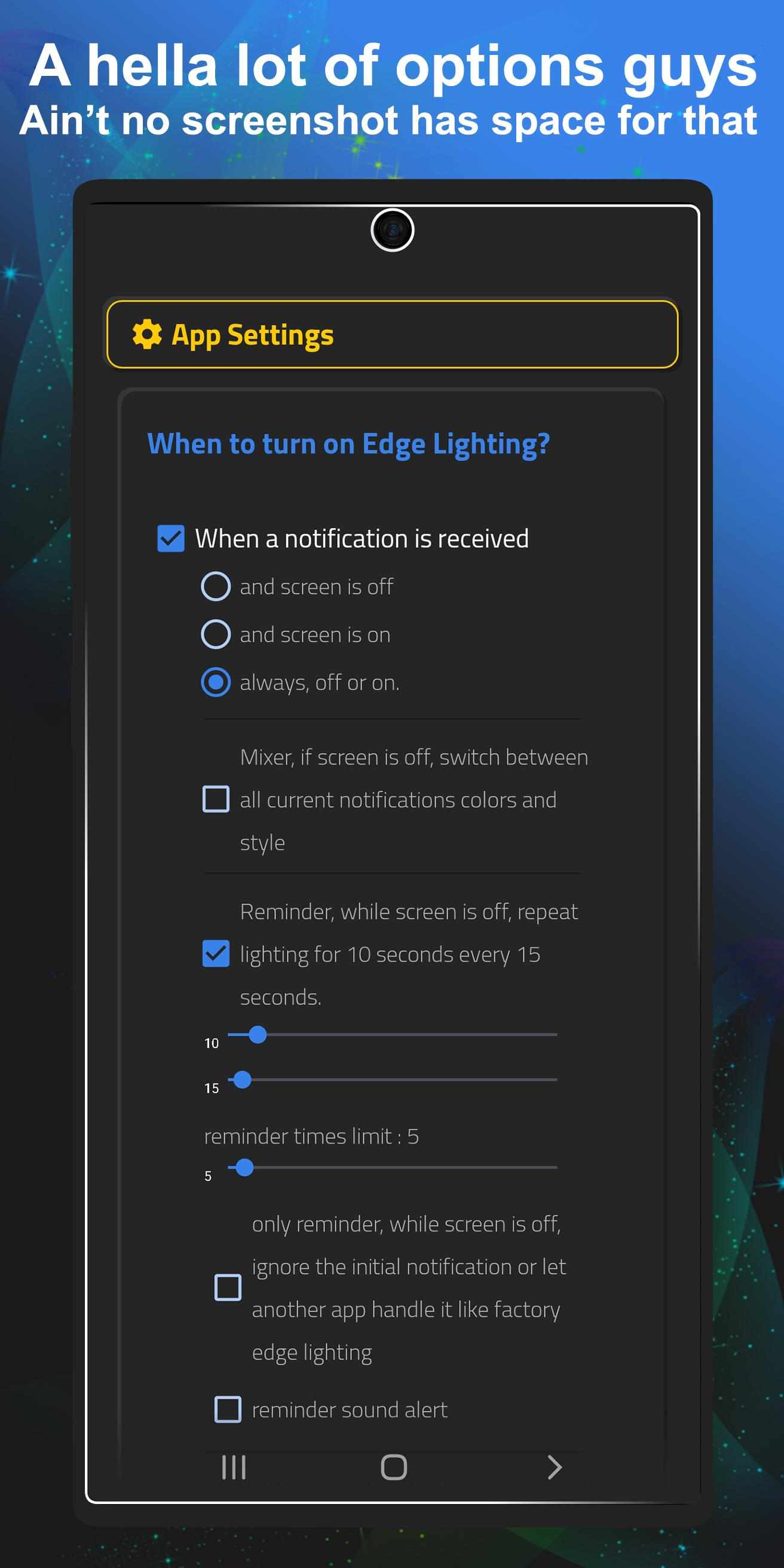 Always On Edge Lighting 5.9.9 Screenshot 3
