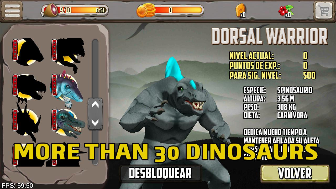 Dinosaurs fighters - Free fighting games 2.0 Screenshot 2